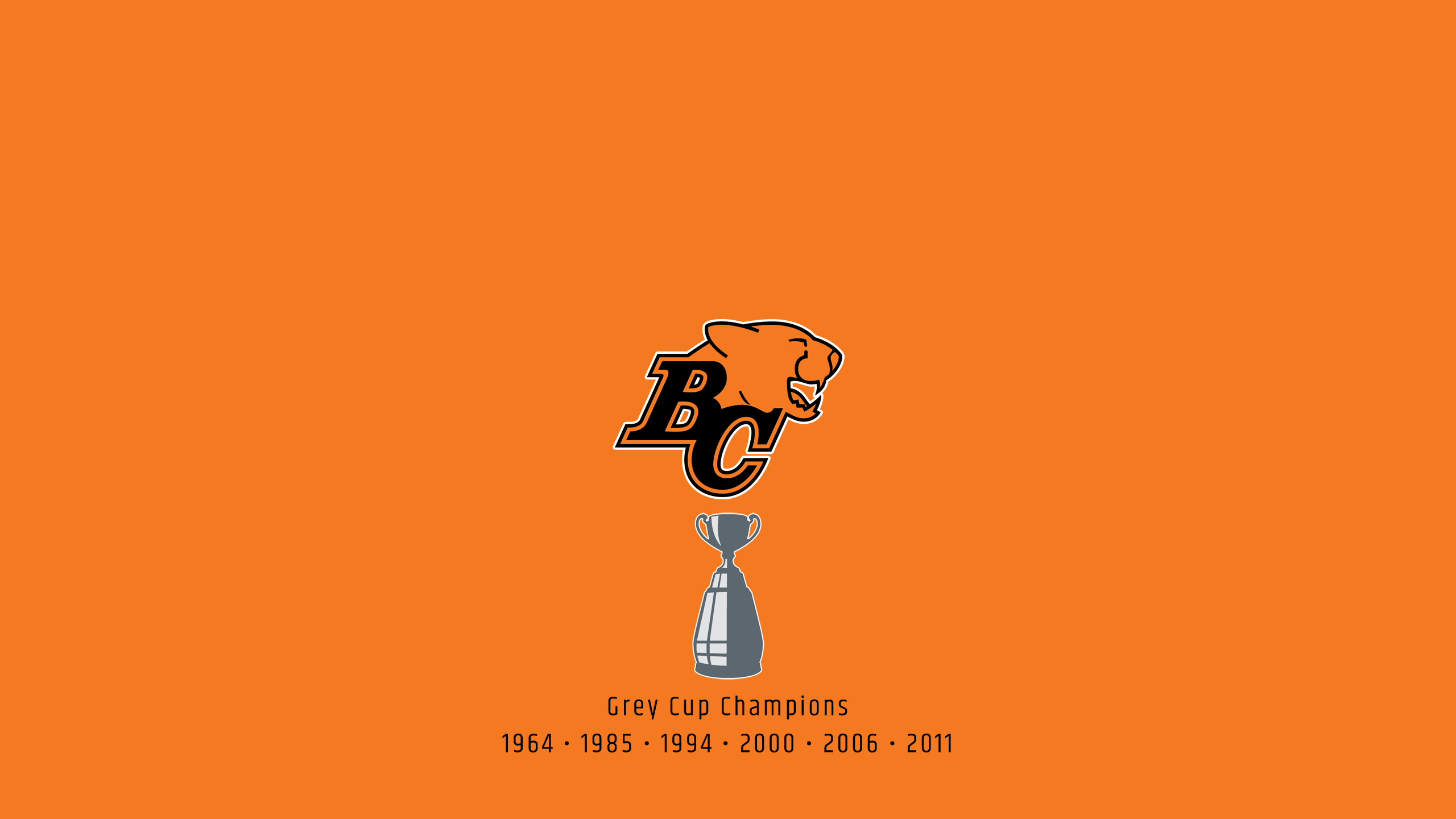 British Columbia Lions - CFL Champs