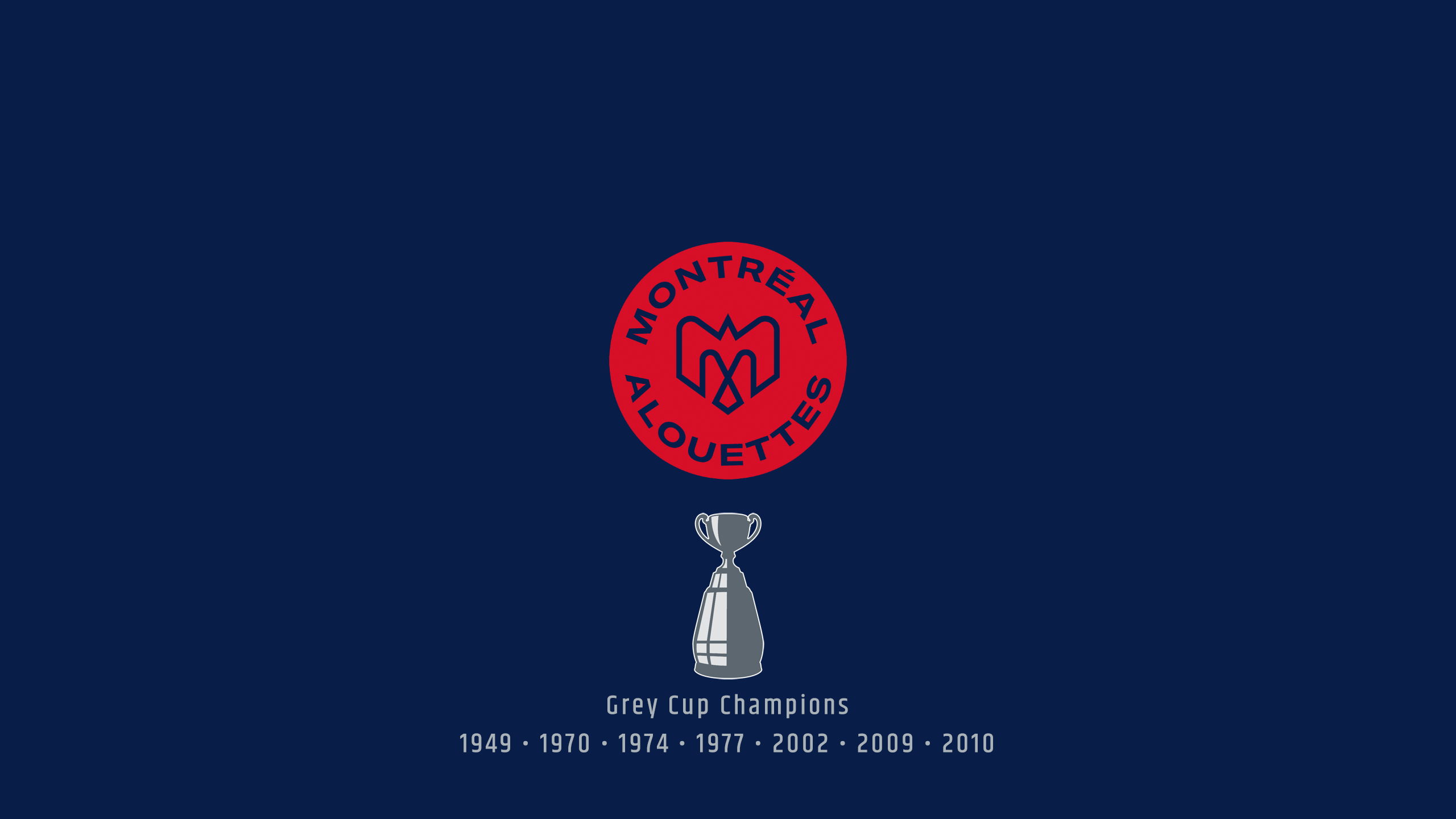 Montreal Alouettes - CFL Champs