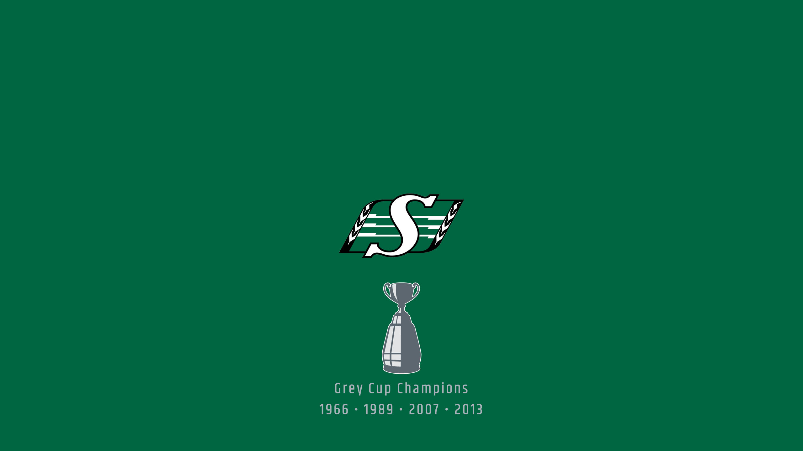 Saskatchewan Roughriders - CFL Champs