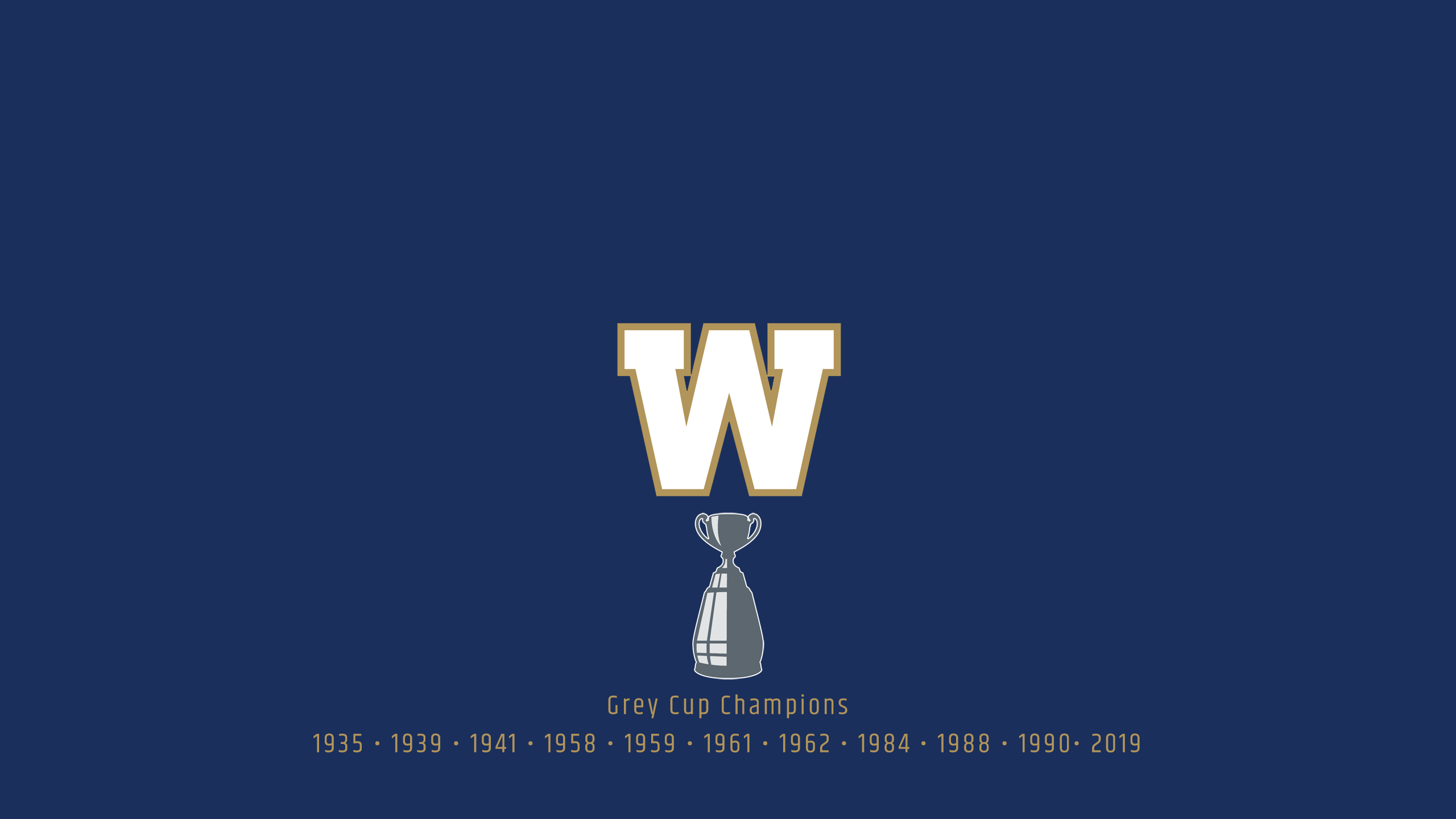 Winnipeg Blue Bombers - CFL Champs