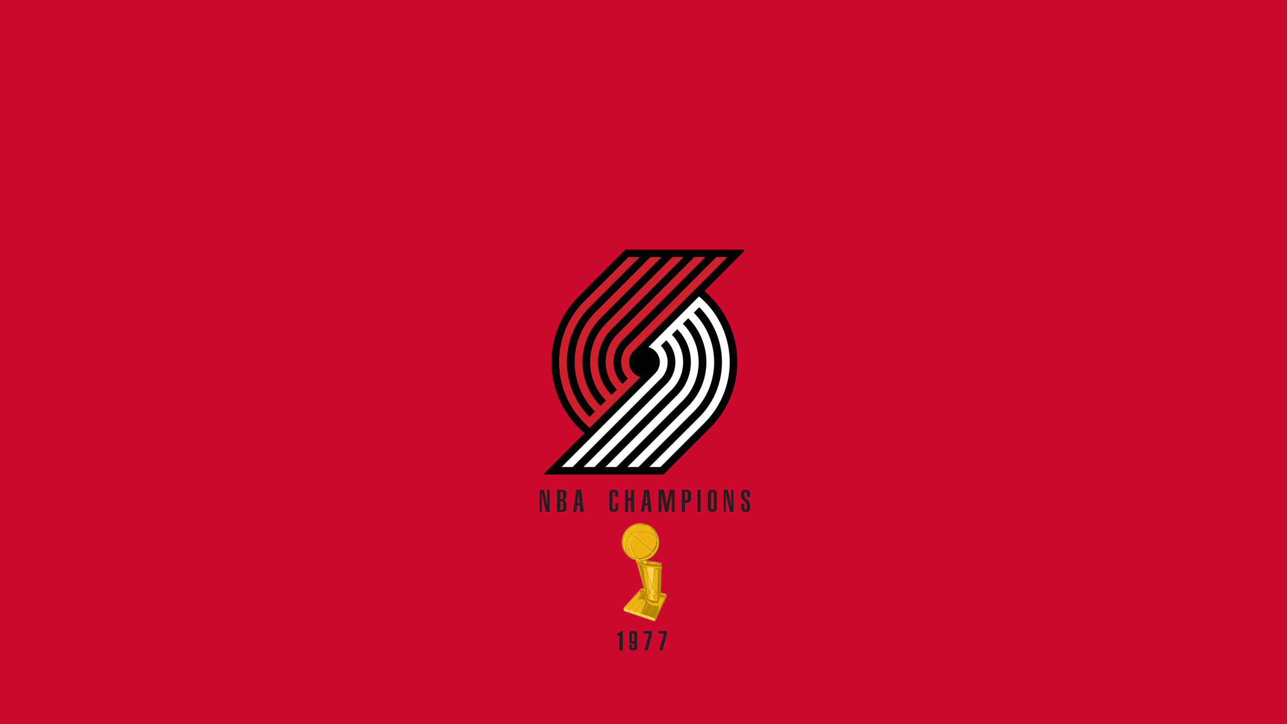 Portland Trailblazers - NBA Champs