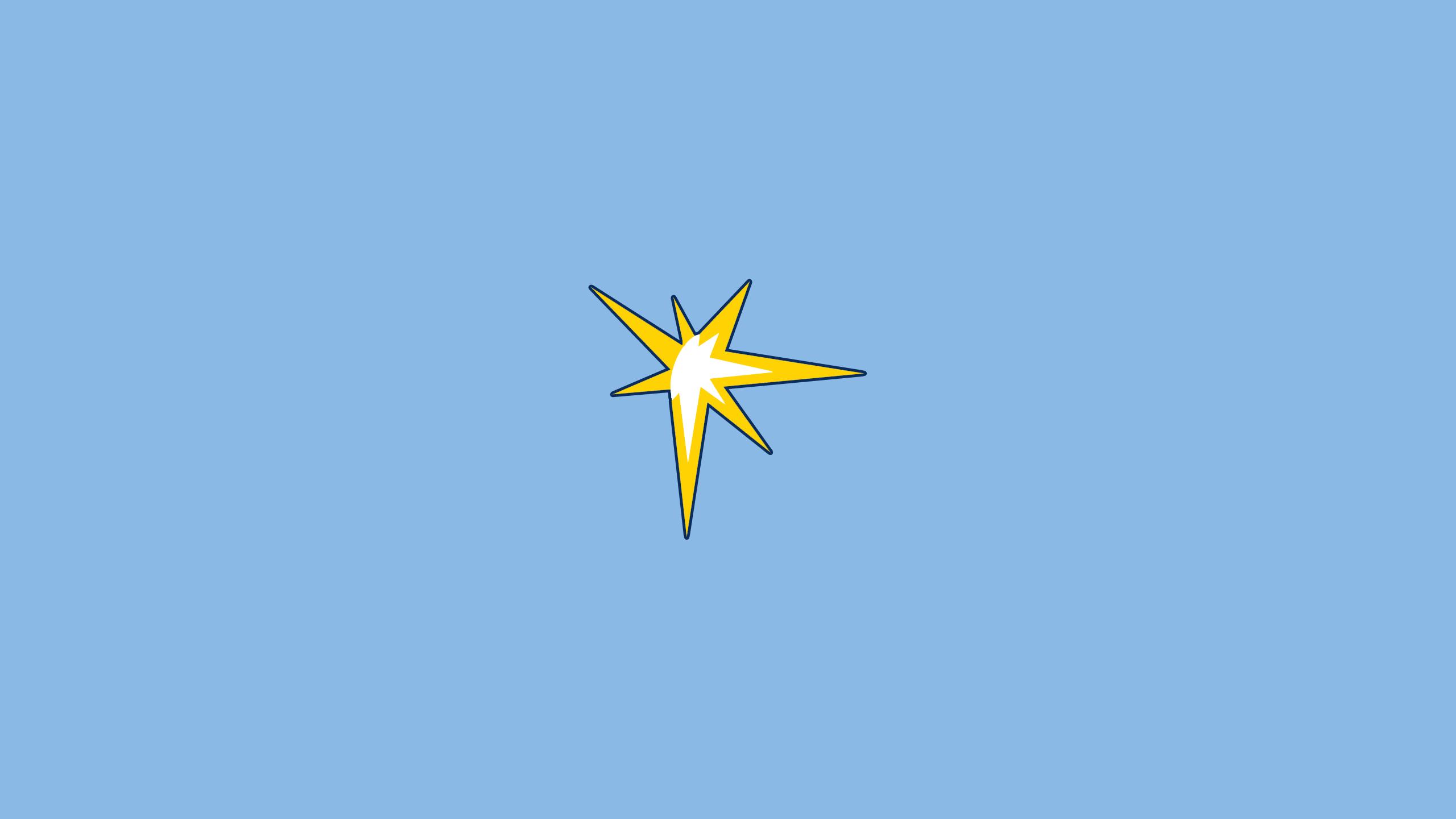 Tampa Bay Rays (Starburst)