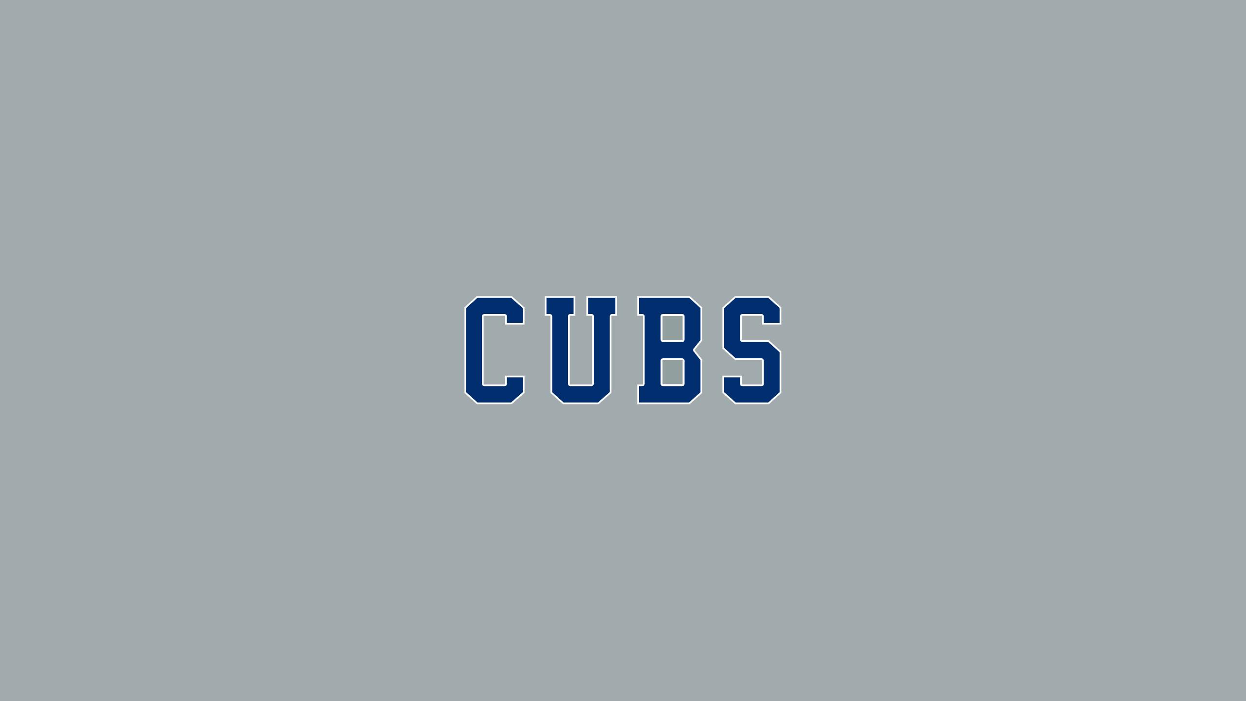 Chicago Cubs (Away Wordmark)