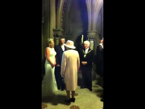 Queen Crashing A Wedding