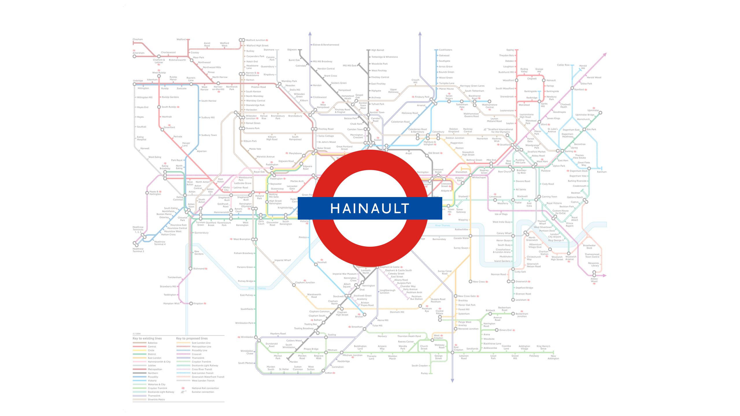 Hainault (Map)