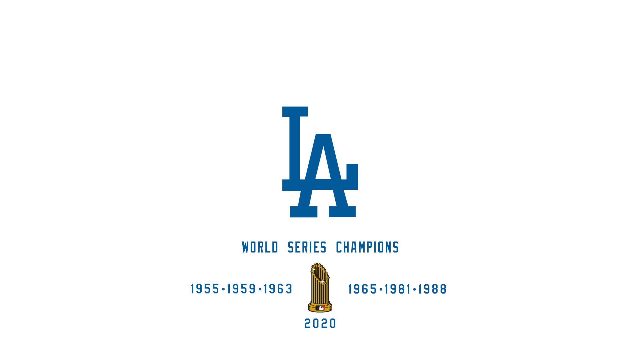 Los Angeles Dodgers - World Series Champs