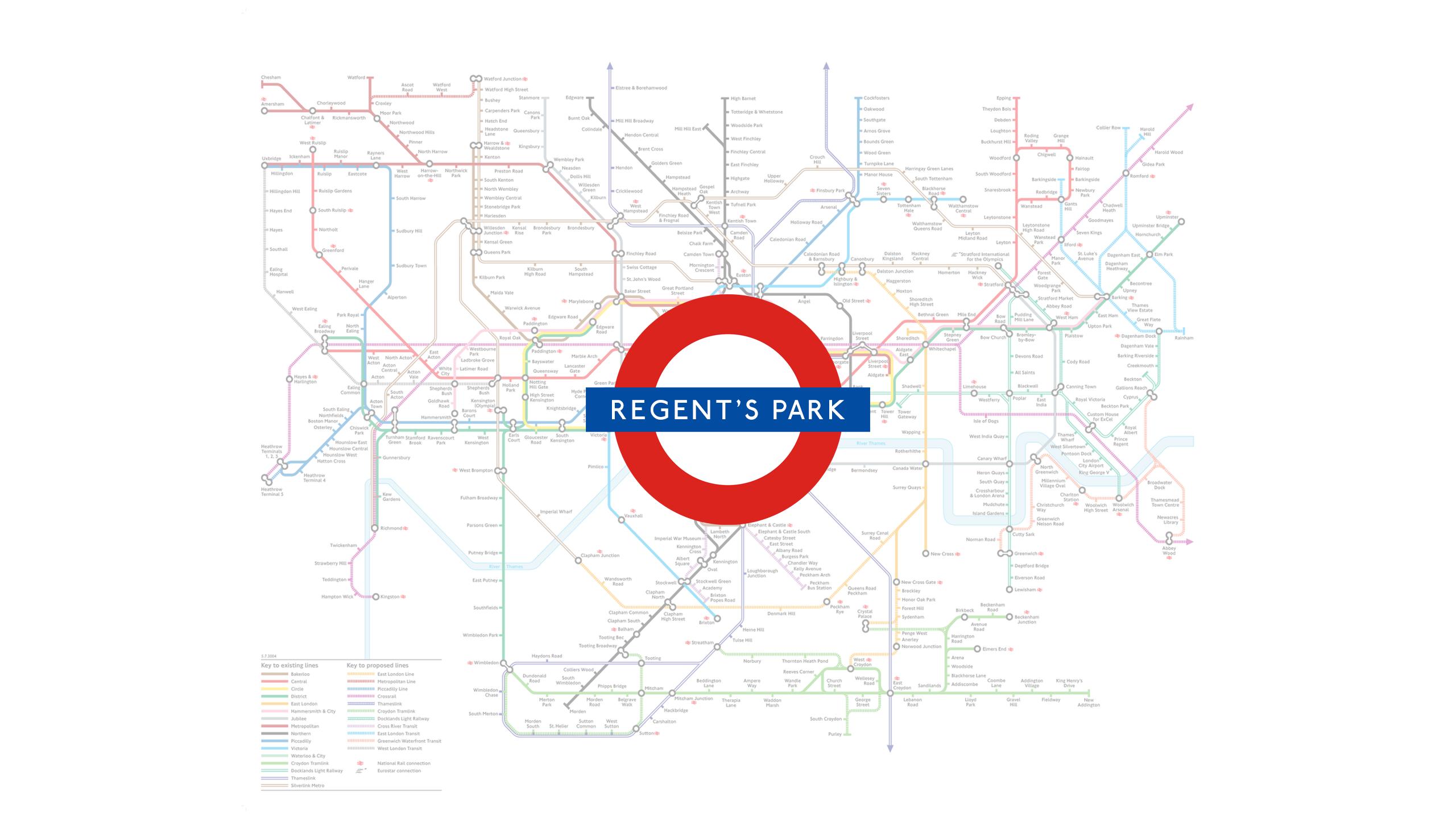 Regents Park (Map)