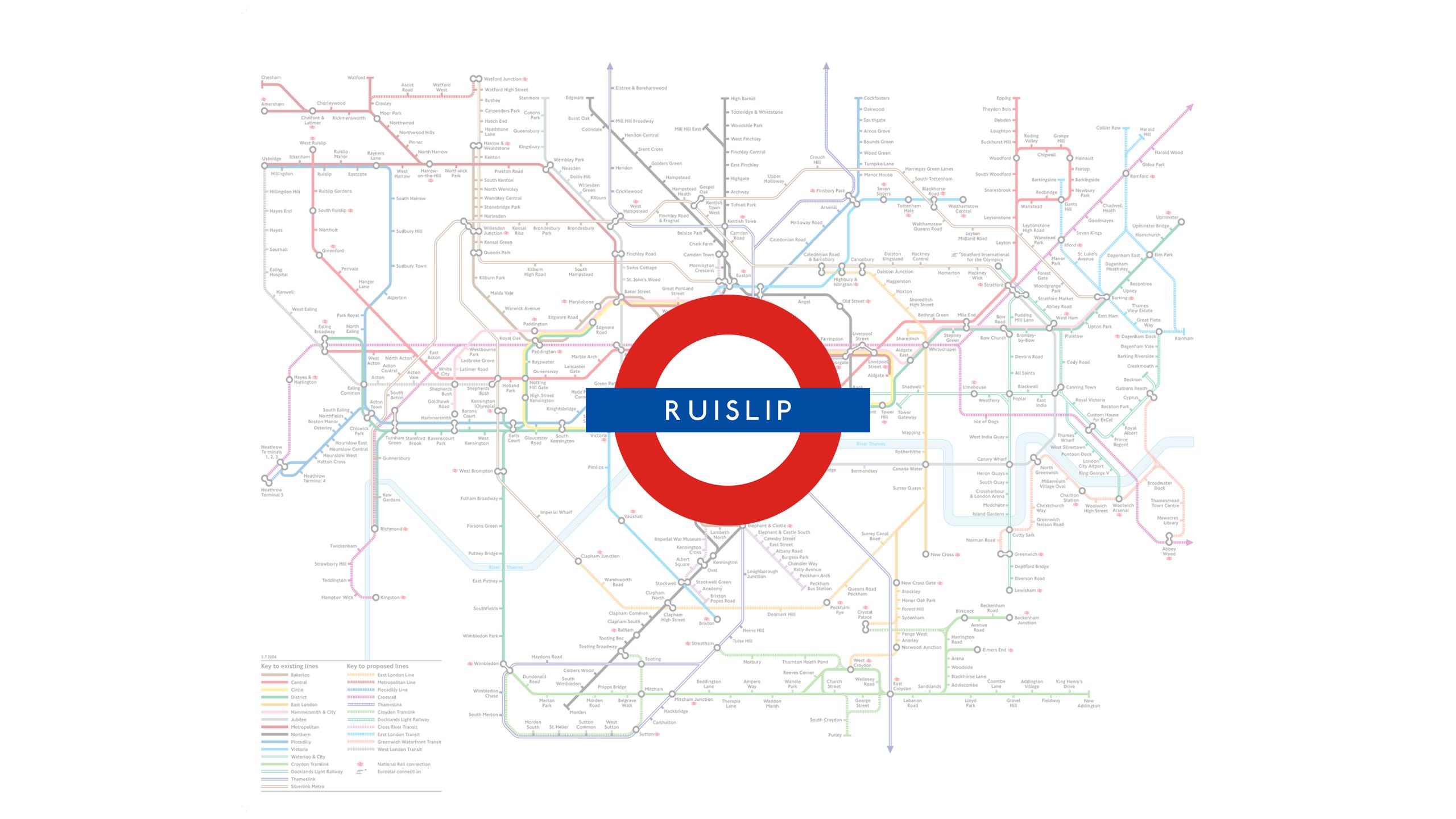 Ruislip (Map)