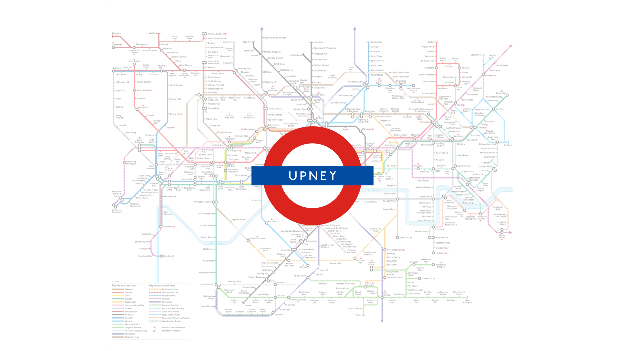 Upney (Map)
