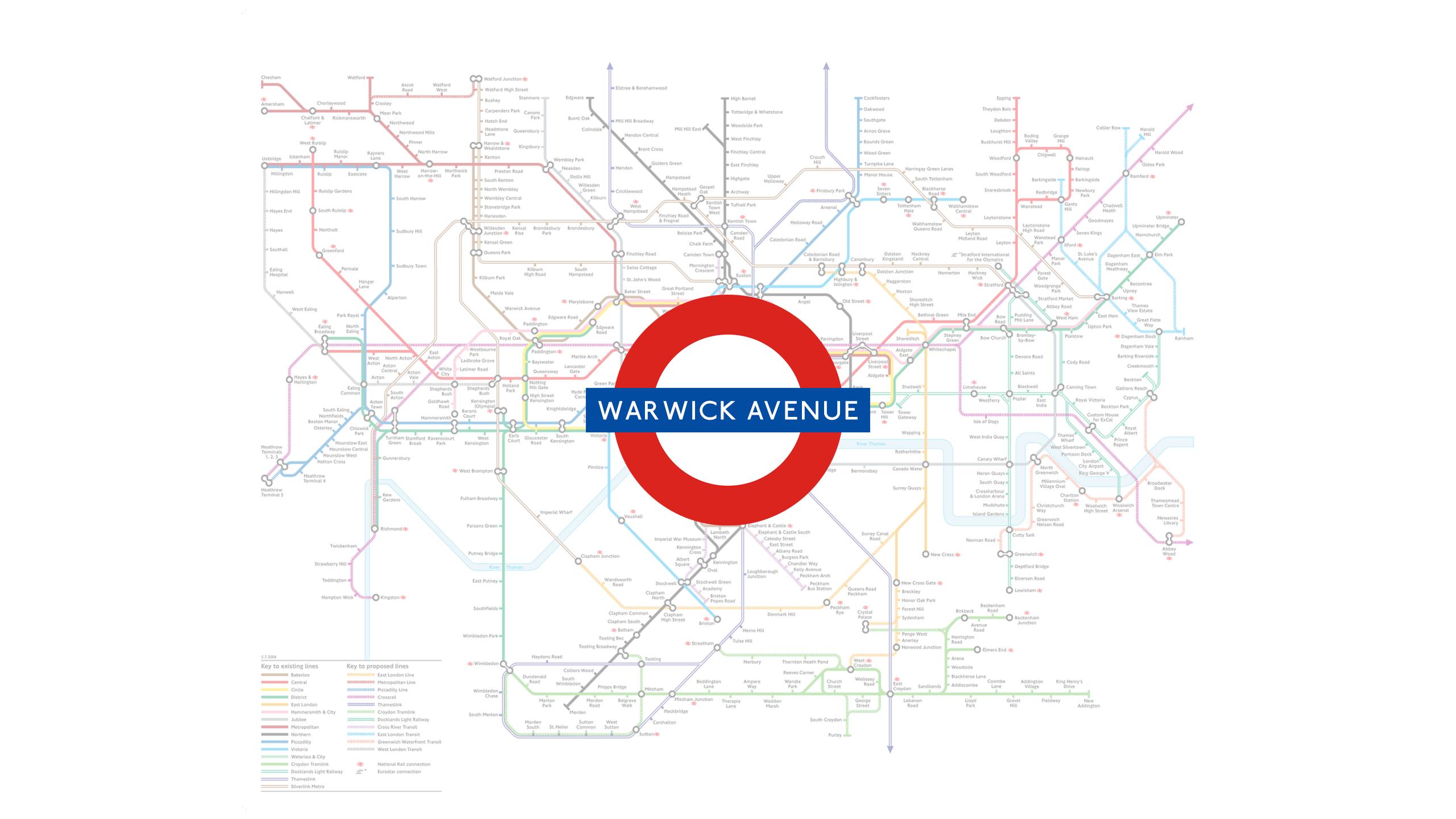 Warwick Avenue (Map)
