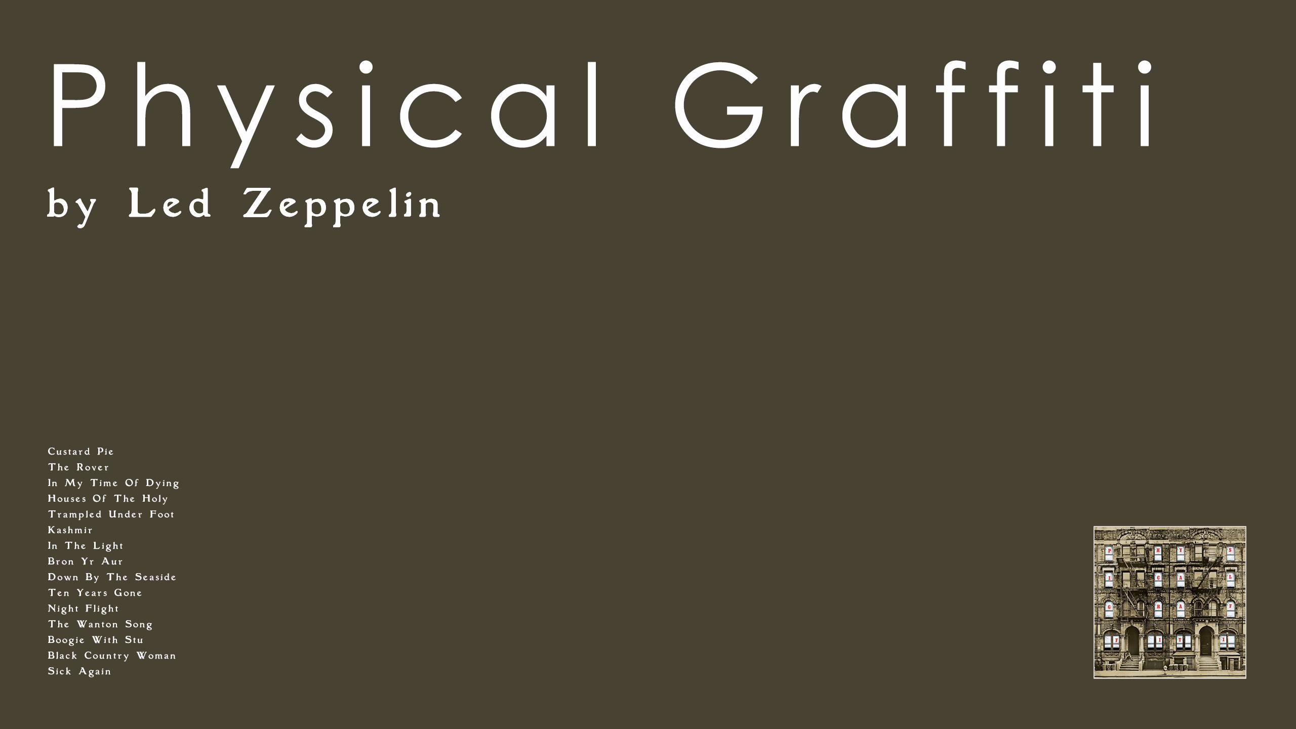 Led Zeppelin- Physical Graffiti