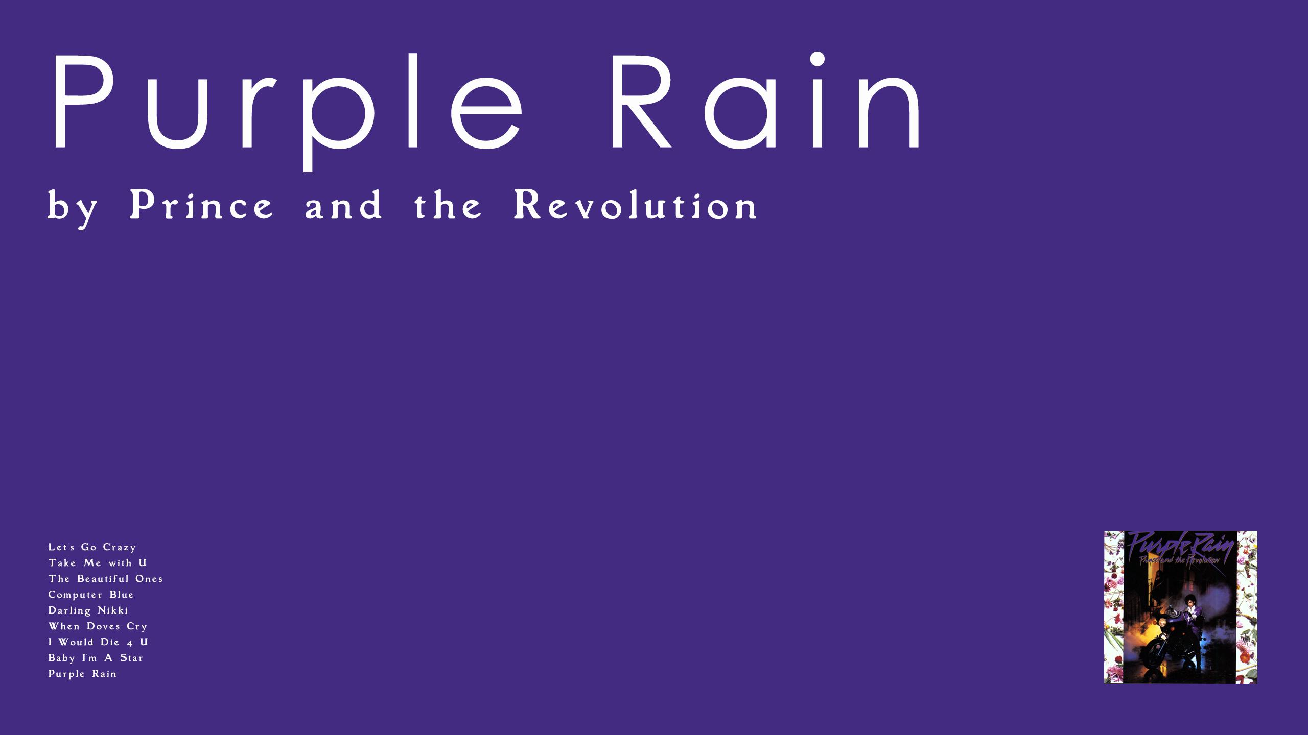 Prince & The Revolution - Purple Rain