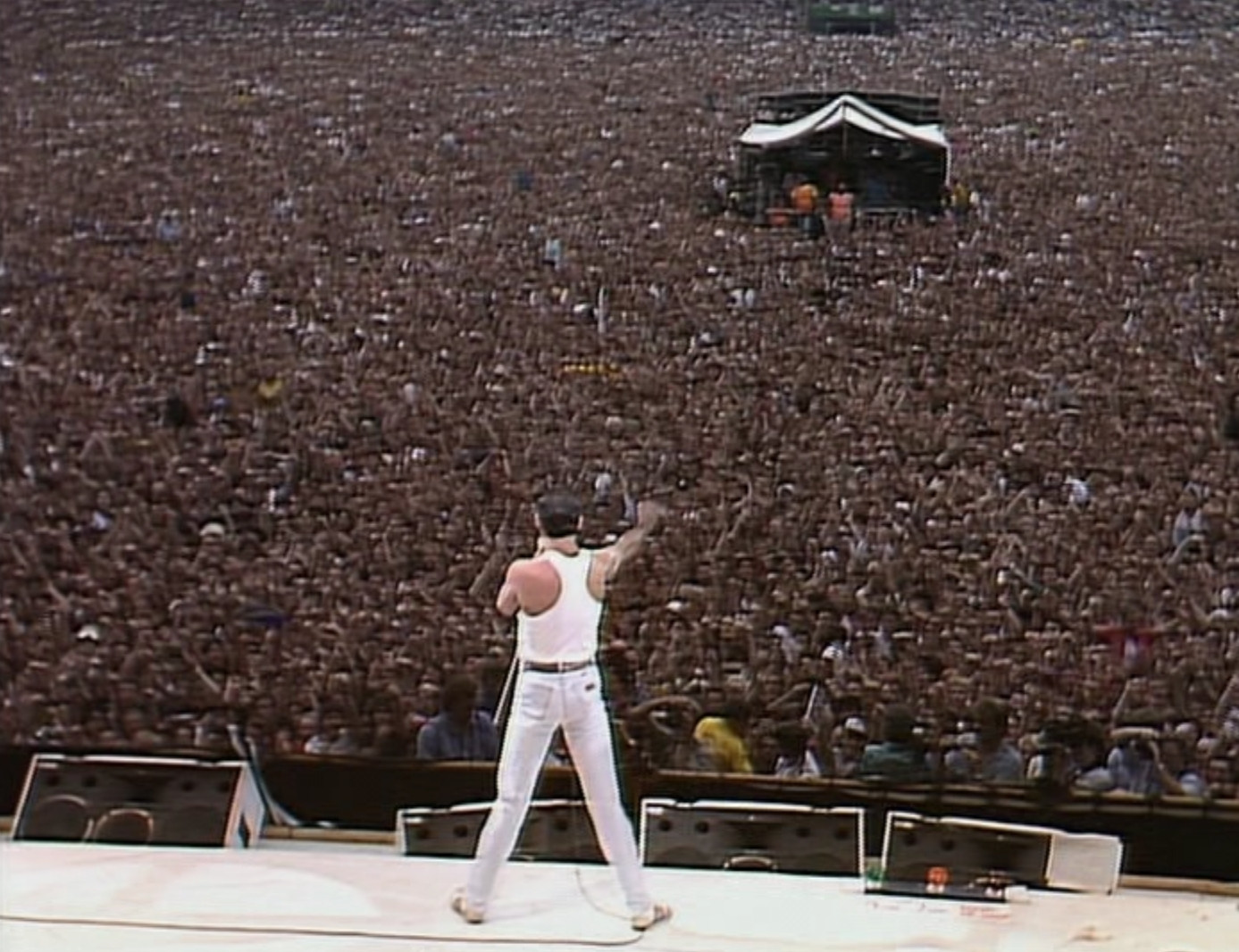 Freddie Mercury at LiveAid