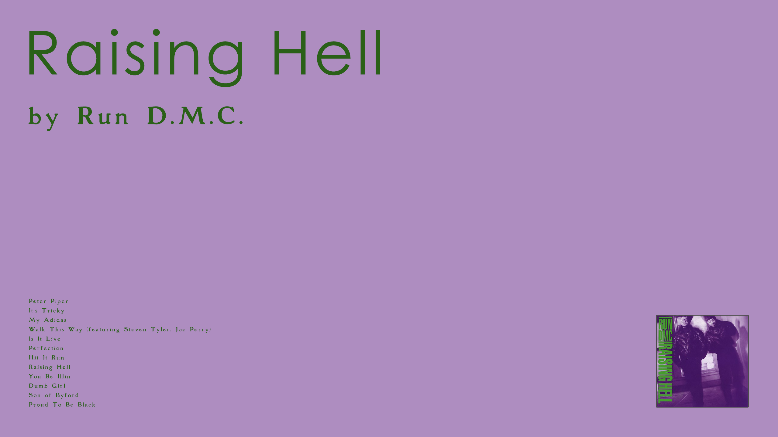 Run D.M.C - Raising Hell