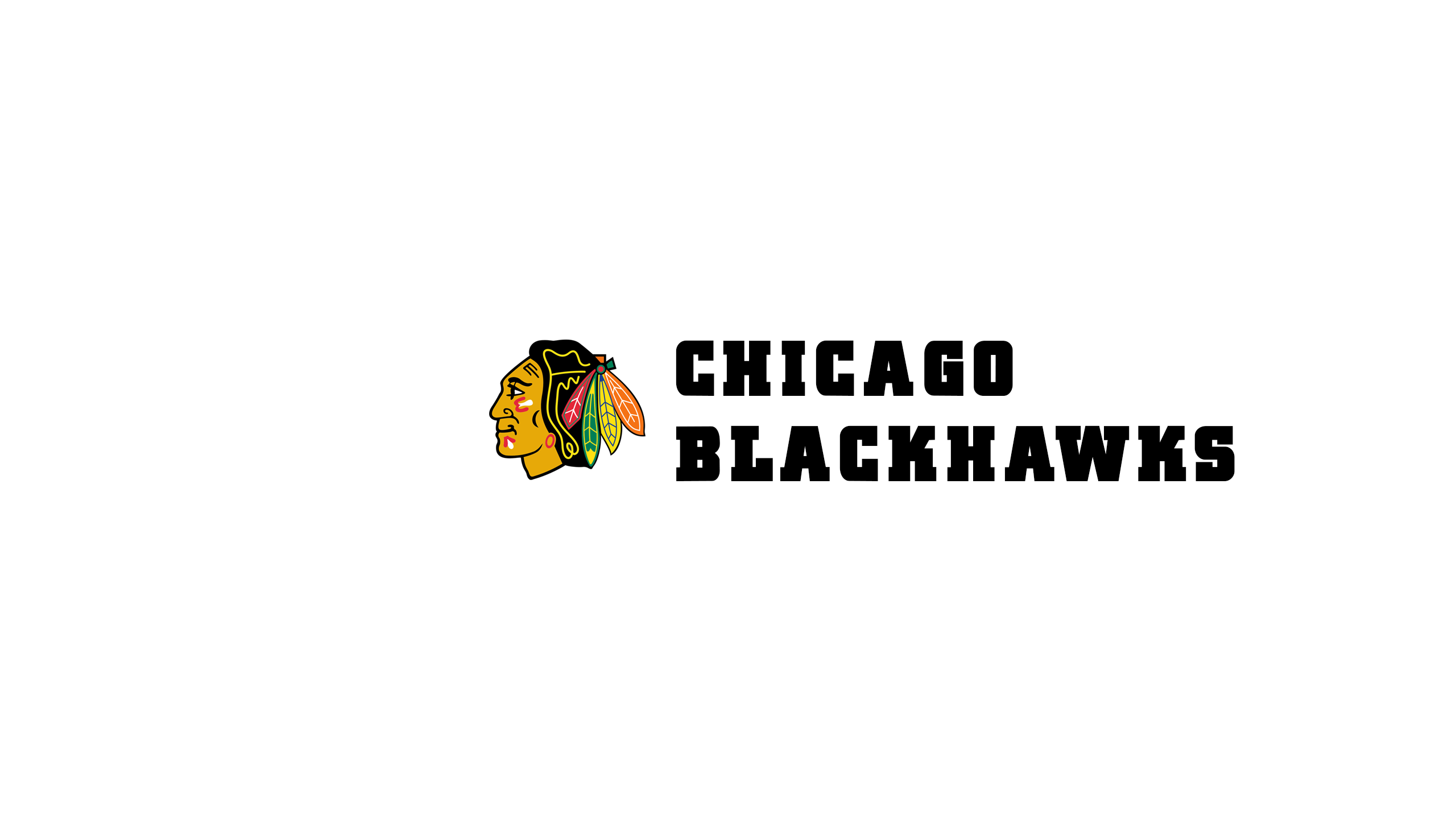 Chicago Blackhawks (Wordmark)
