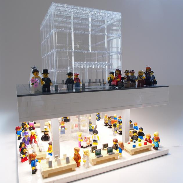 Lego 5th Ave. Apple Store