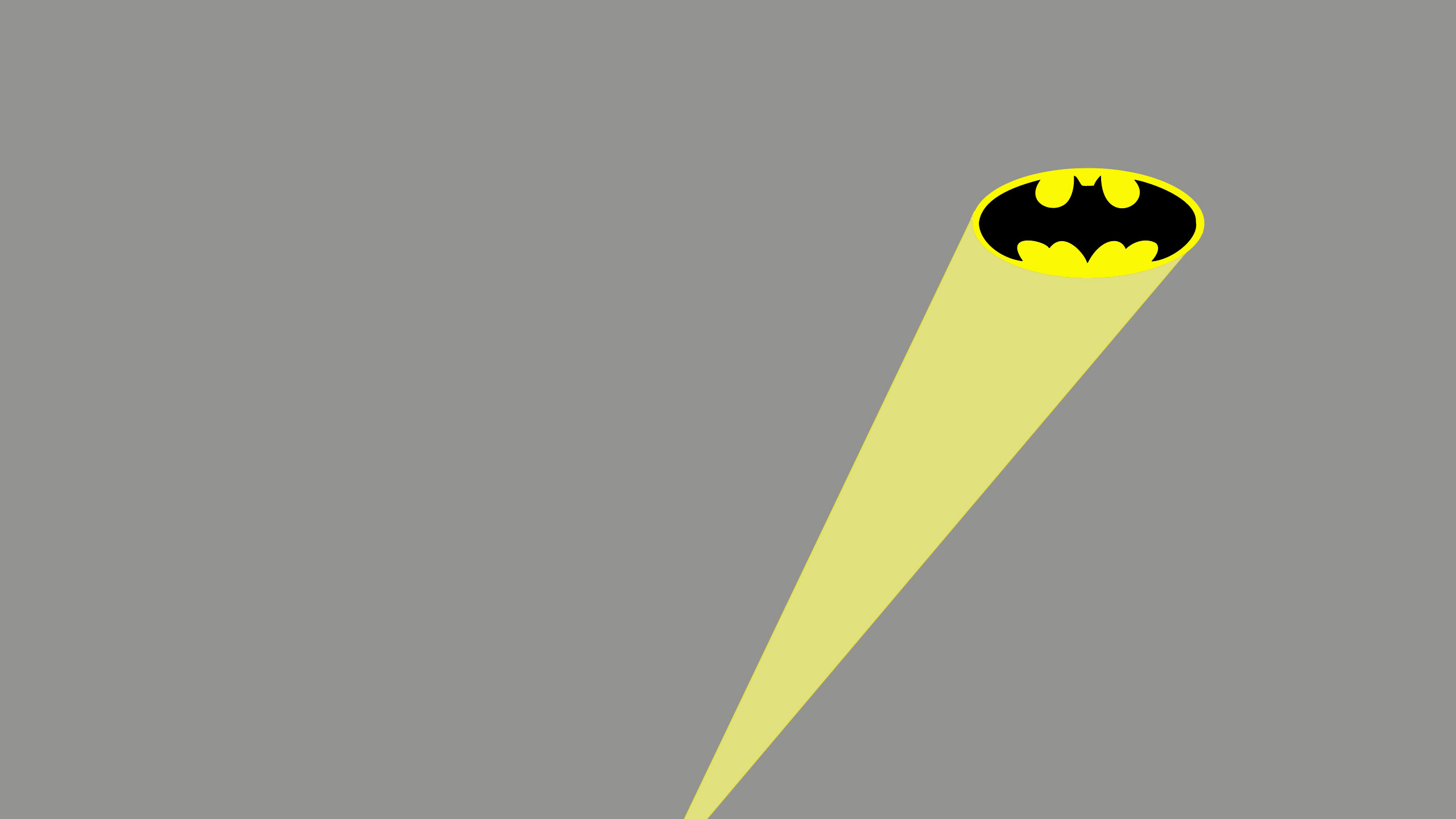 Batman and the Batsignal