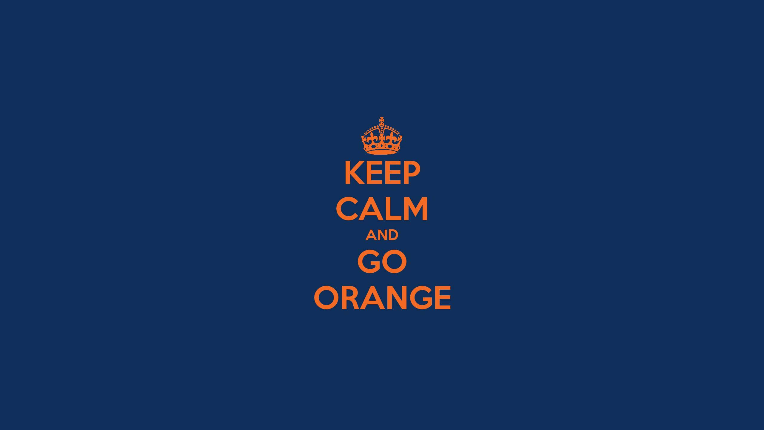 Syracuse - Keep Calm & Go Orange