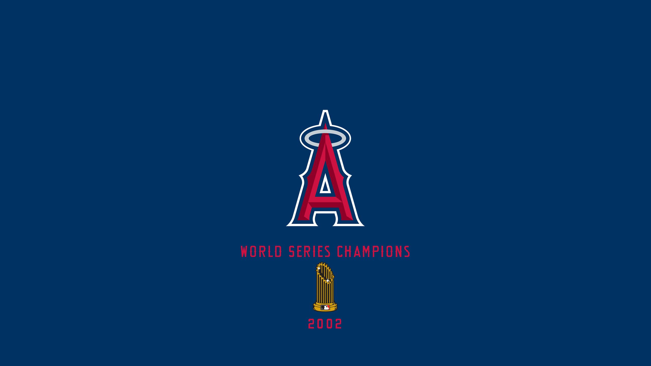 Anaheim Angels - World Series Champs