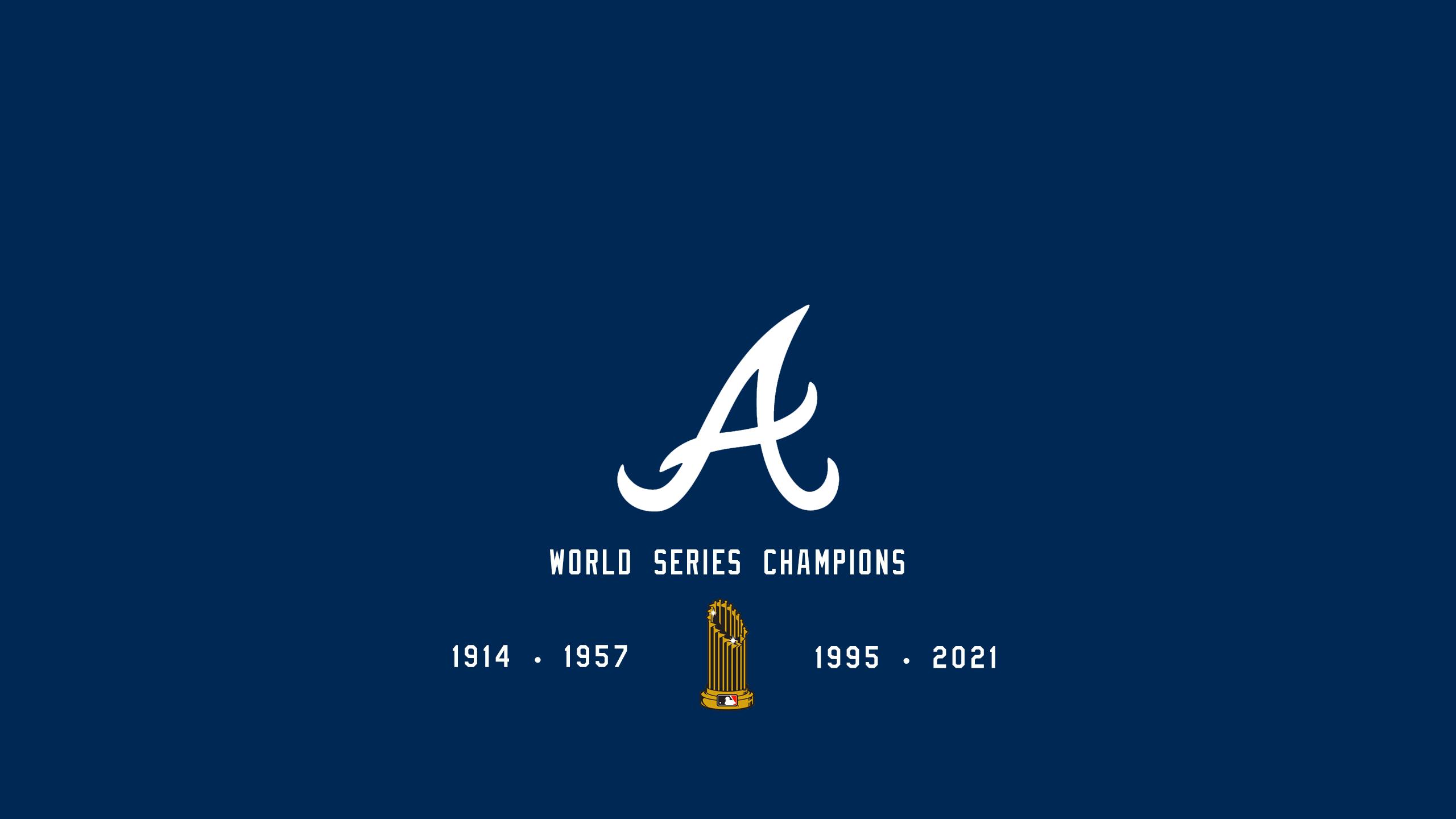 Atlanta Braves - World Series Champs