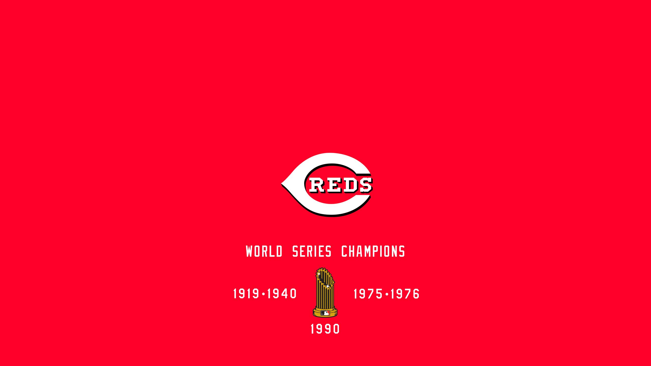 Cincinnati Reds - World Series Champs