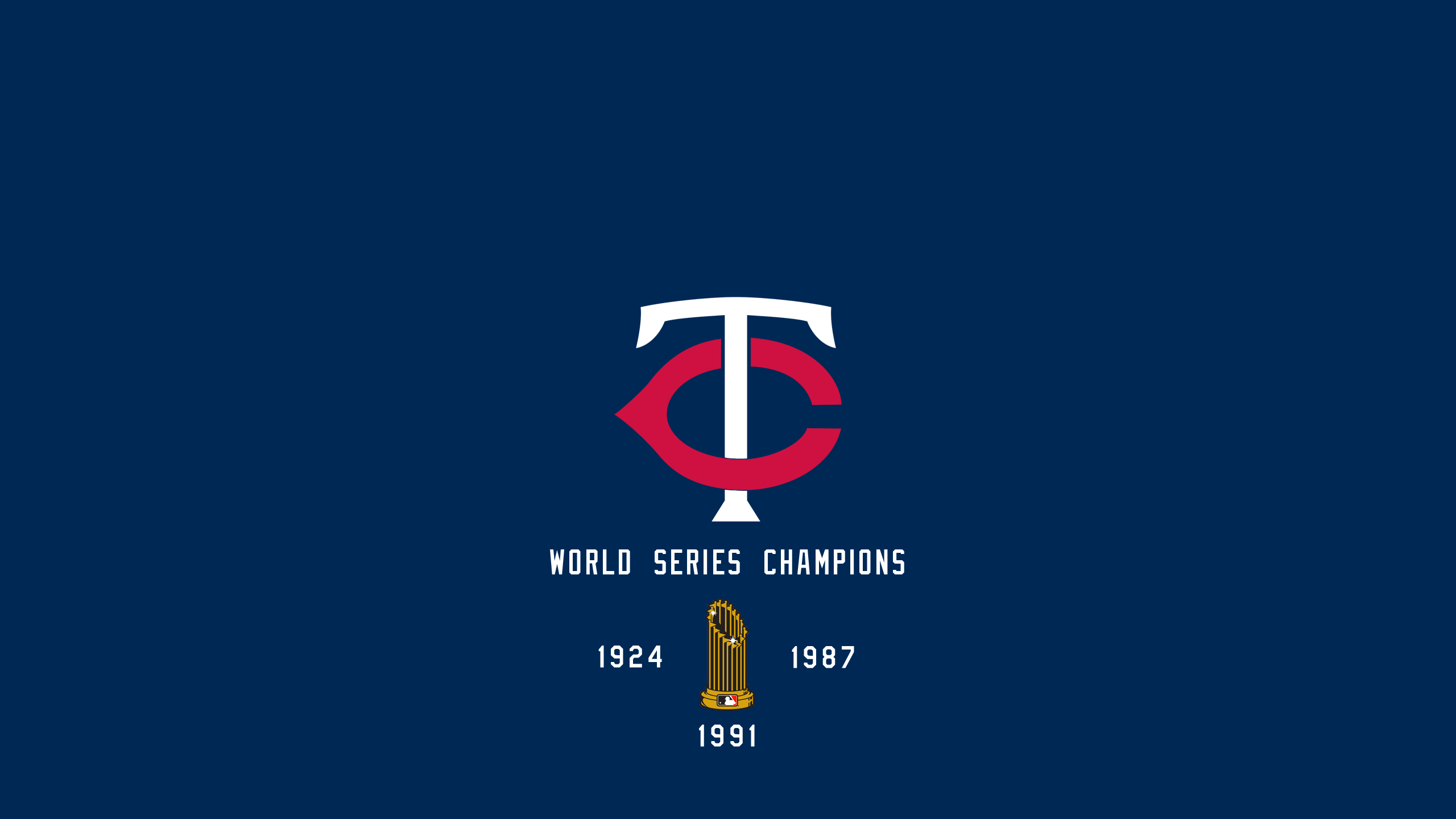 Minnesota Twins - World Series Champs