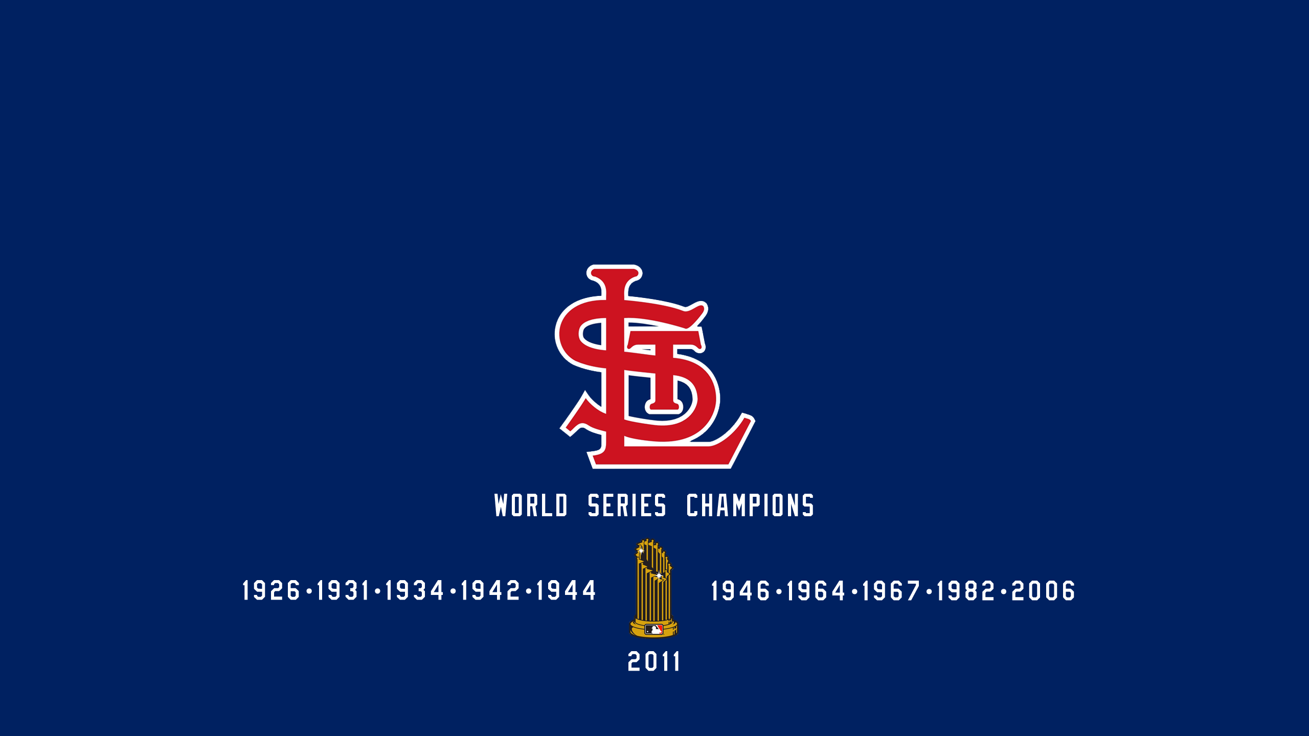 St. Louis Cardinals - World Series Champs