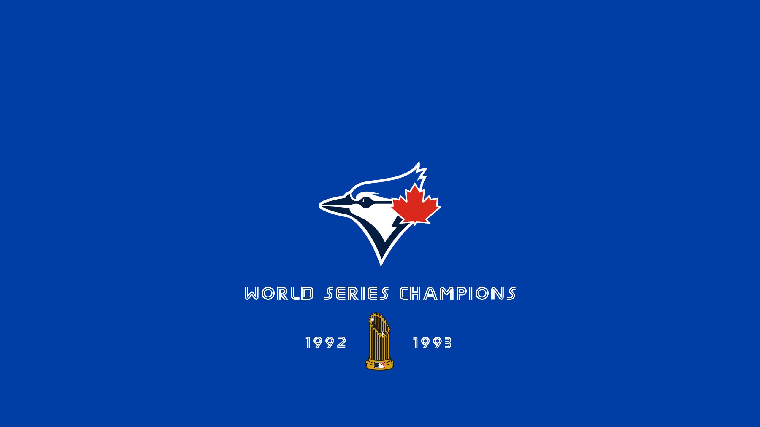 Toronto Blue Jays - World Series Champs