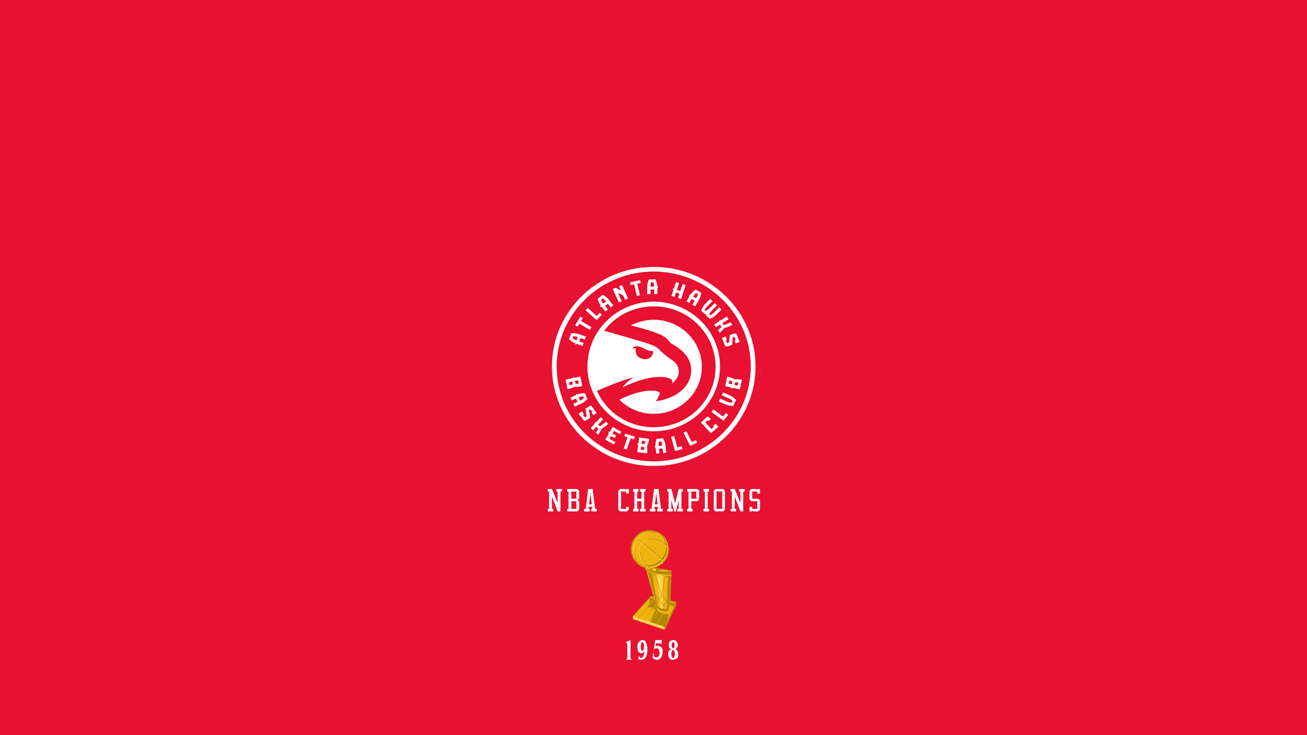 Atlanta Hawks - NBA Champs