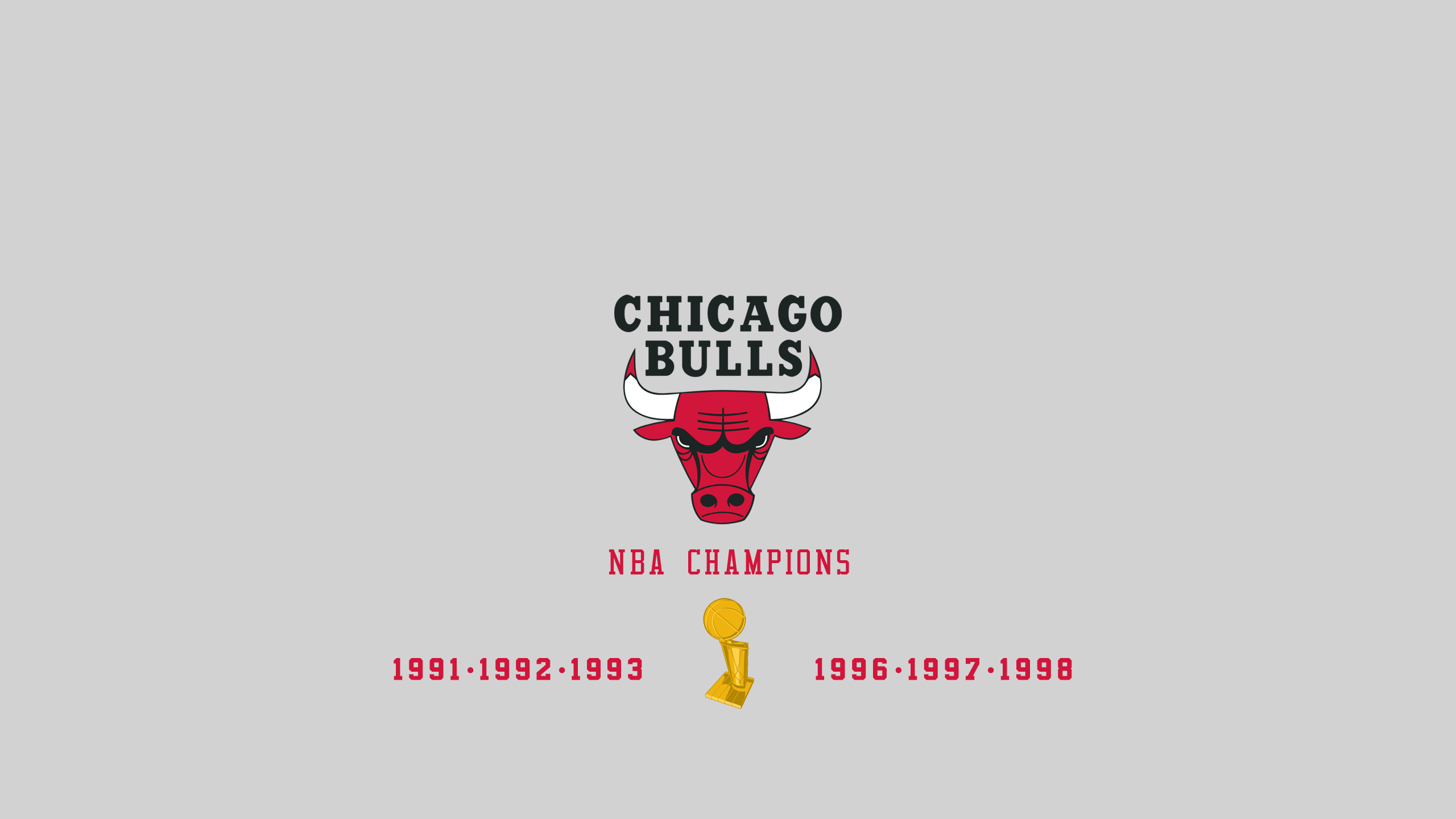 Chicago Bulls - NBA Champs
