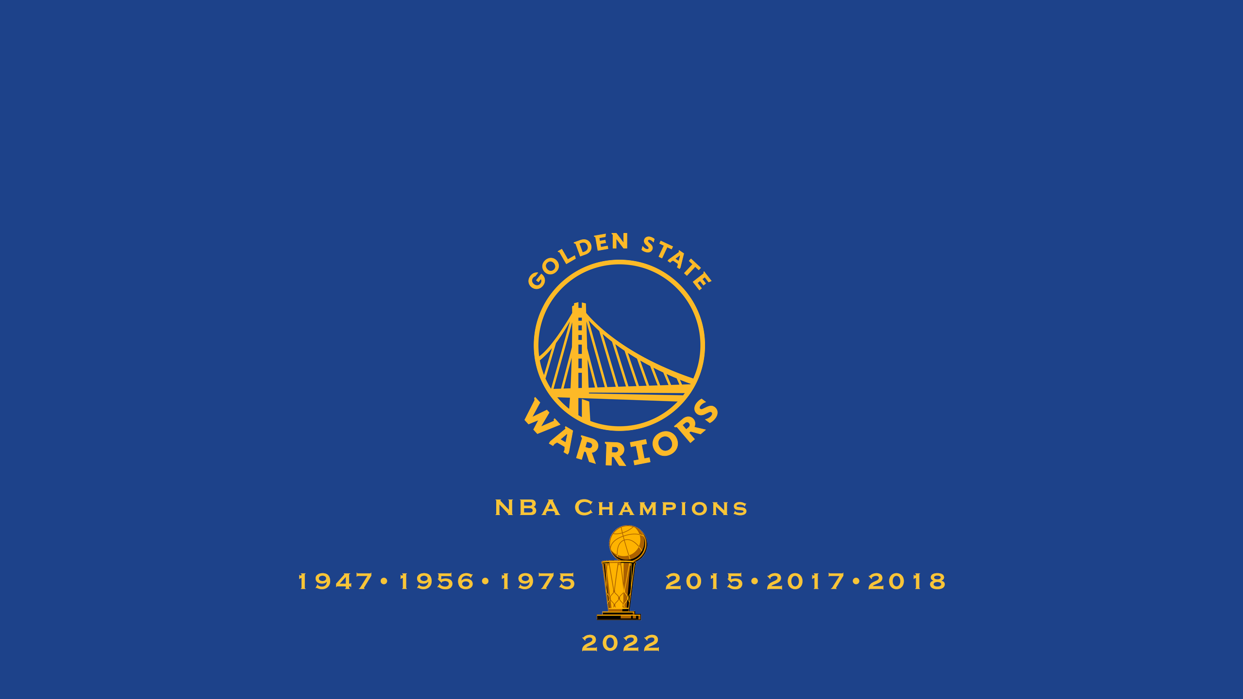 Golden State Warriors - NBA Champs