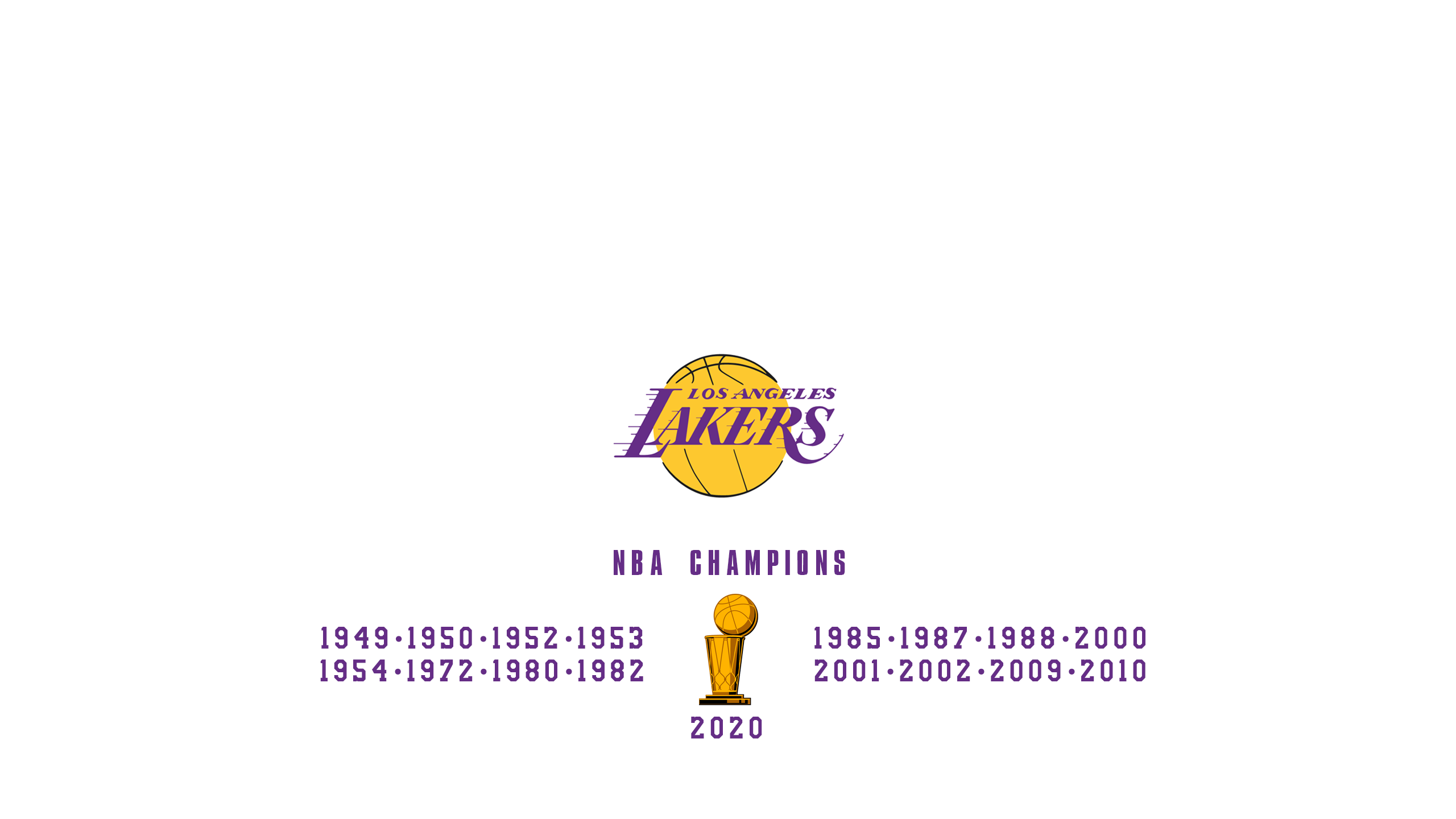 Los Angeles Lakers - NBA Champs