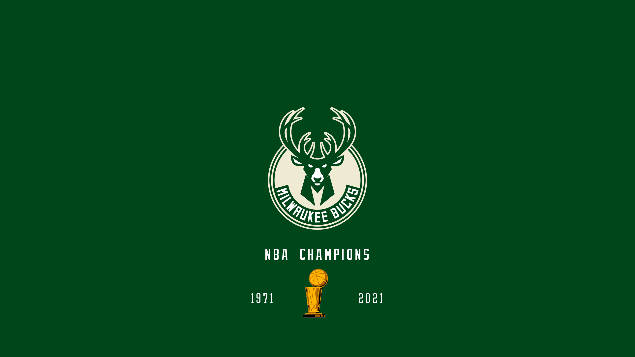 Milwaukee Bucks - NBA Champs