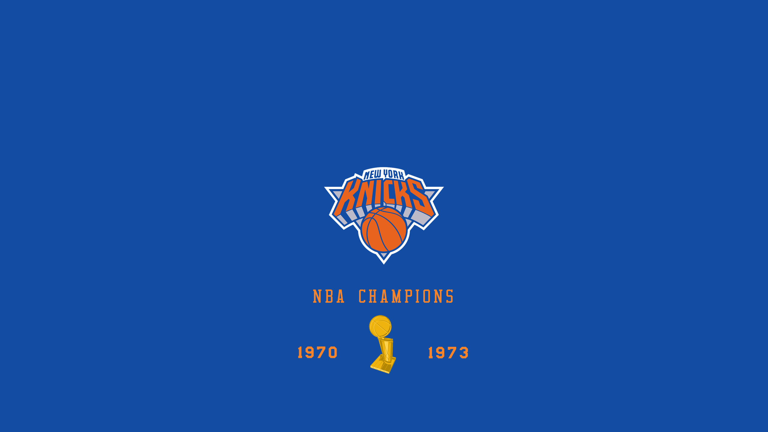 New York Knicks - NBA Champs