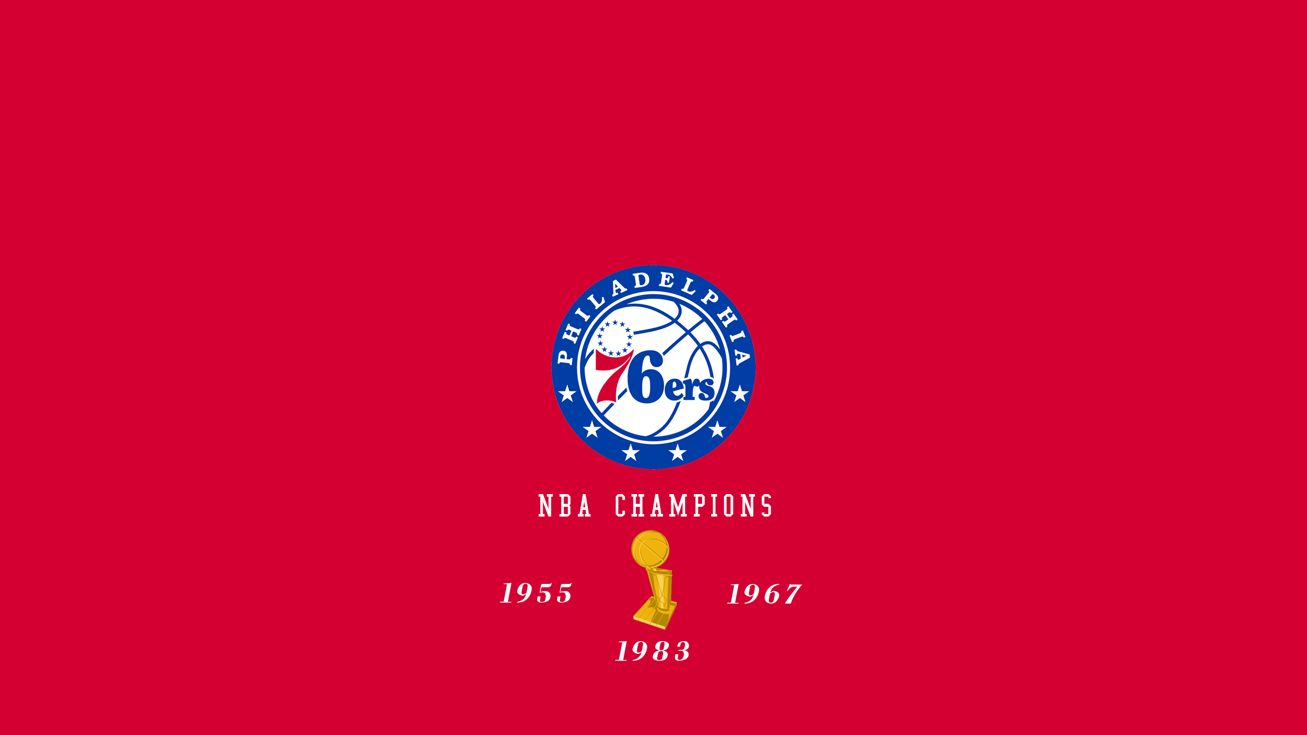 Philadelphia 76ers - NBA Champs