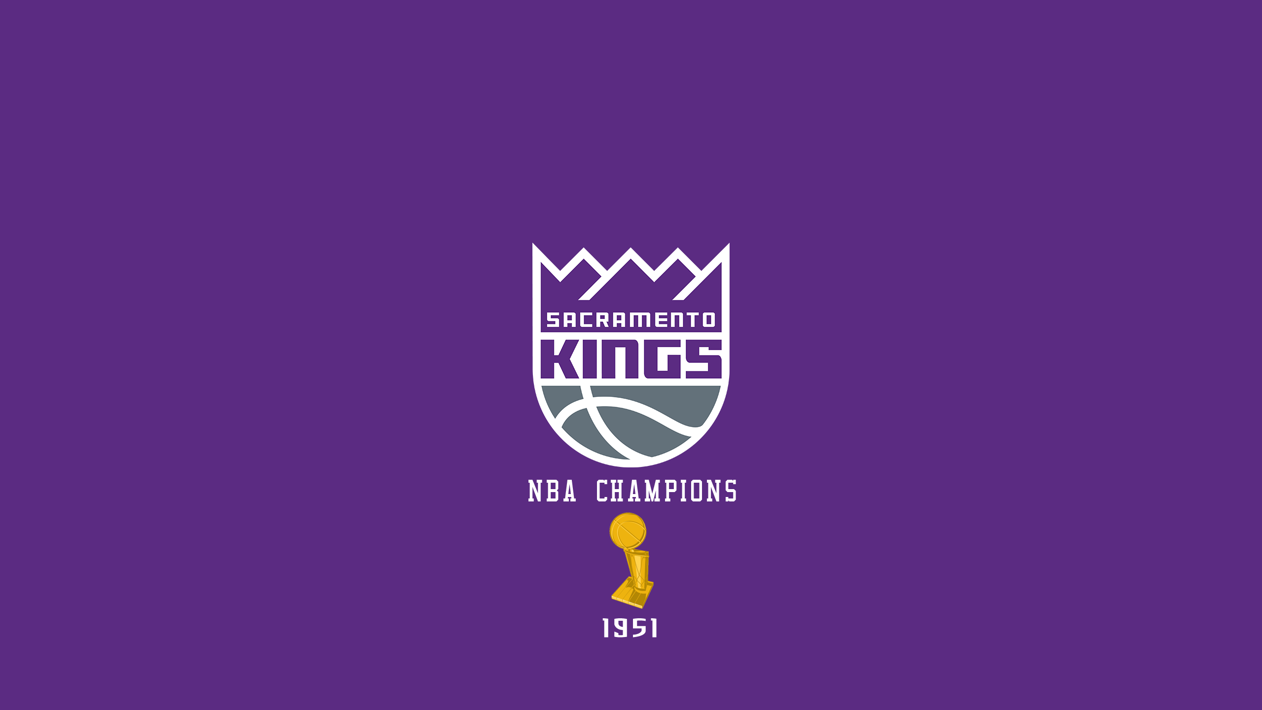 Sacramento Kings - NBA Champs