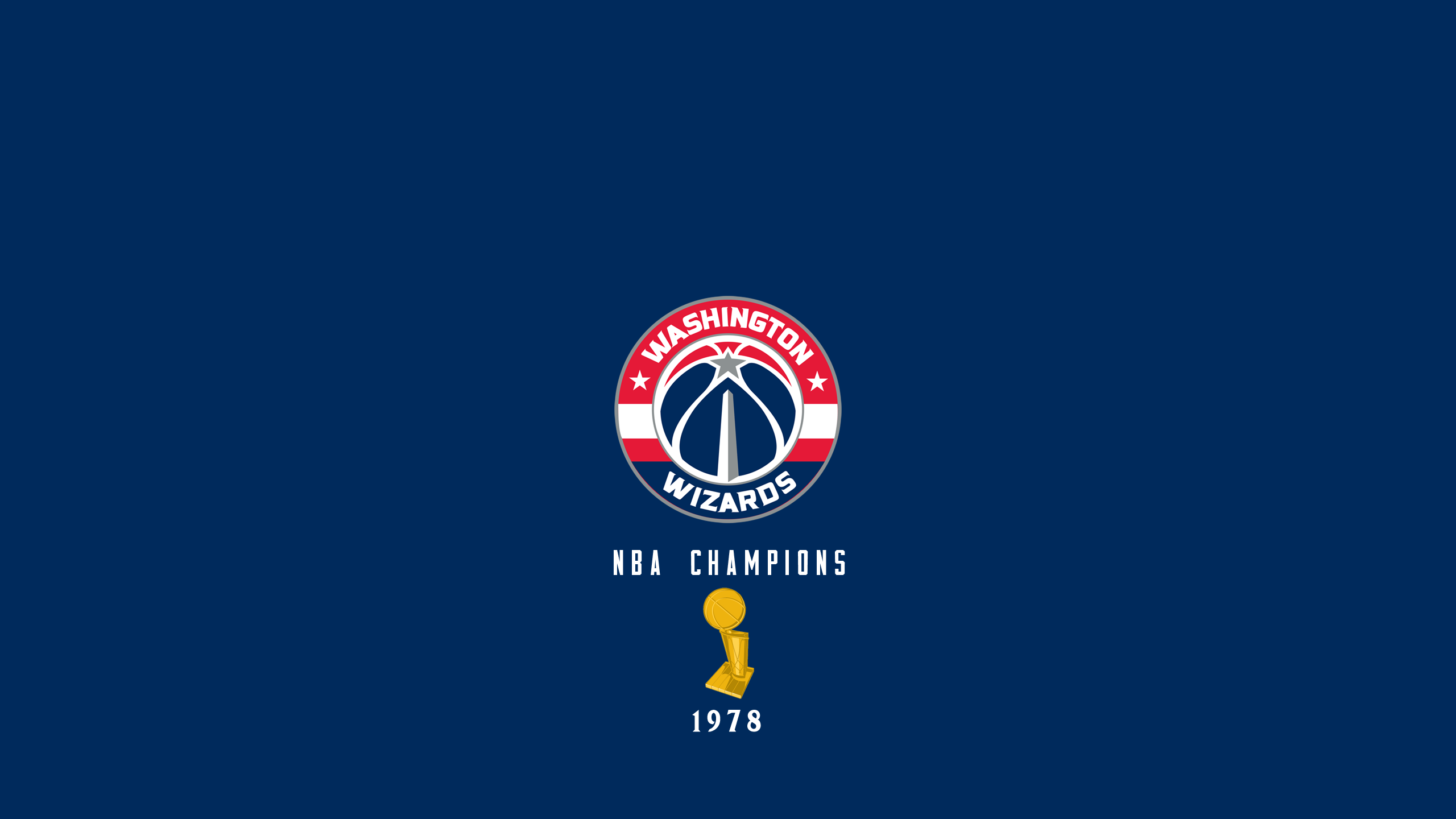 Washington Wizards - NBA Champs