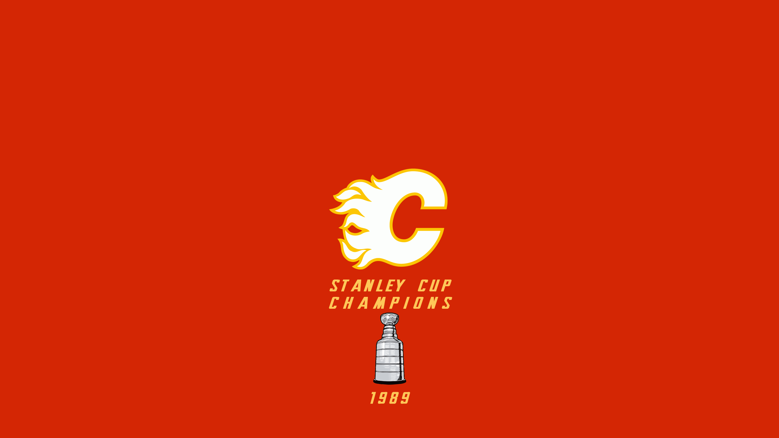 Calgary Flames - Stanley Cup