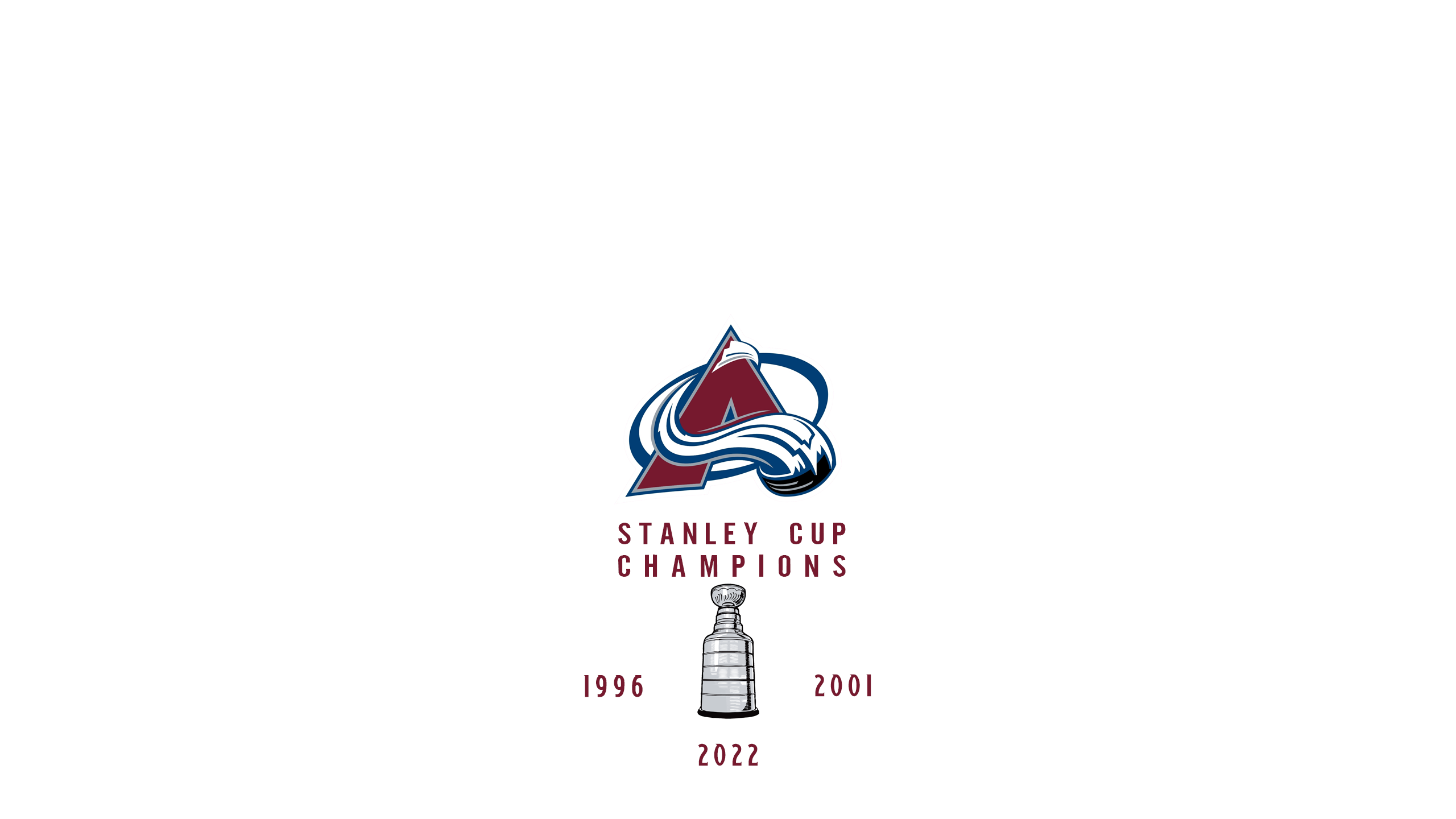 Colorado Avalanche - Stanley Cup