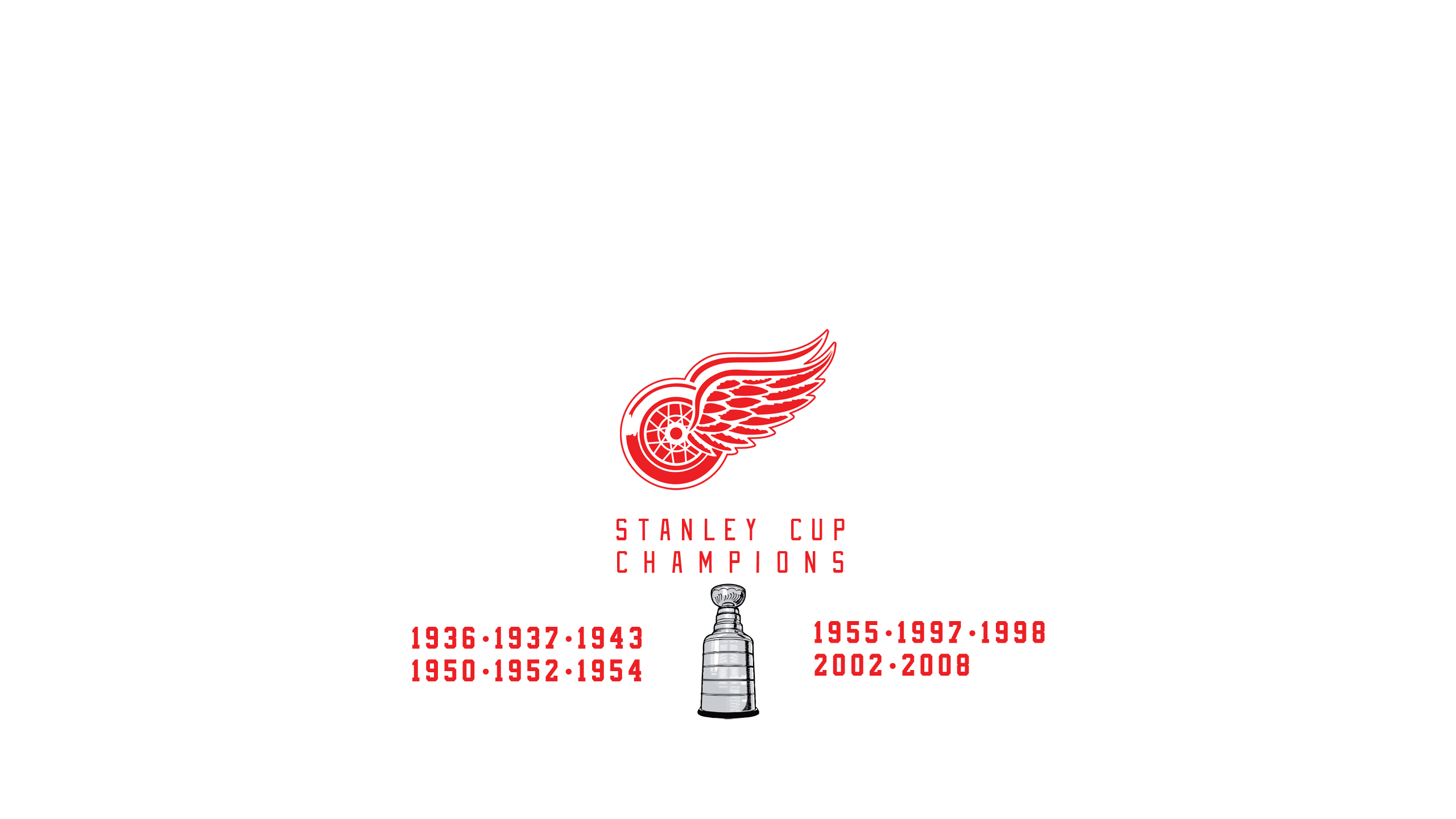 Detroit Red Wings - Stanley Cup