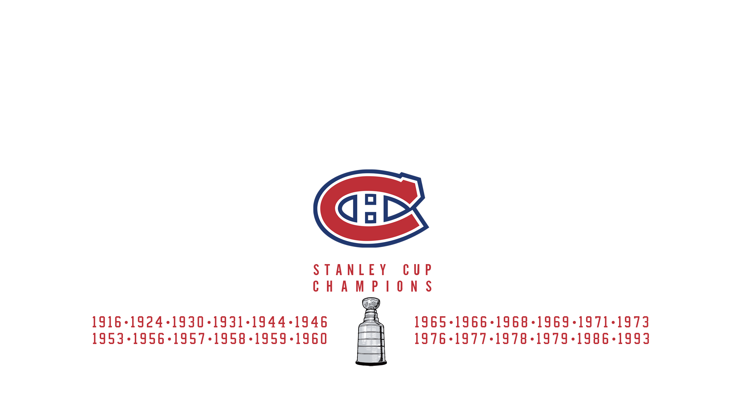 Montreal Canadiens - Stanley Cup