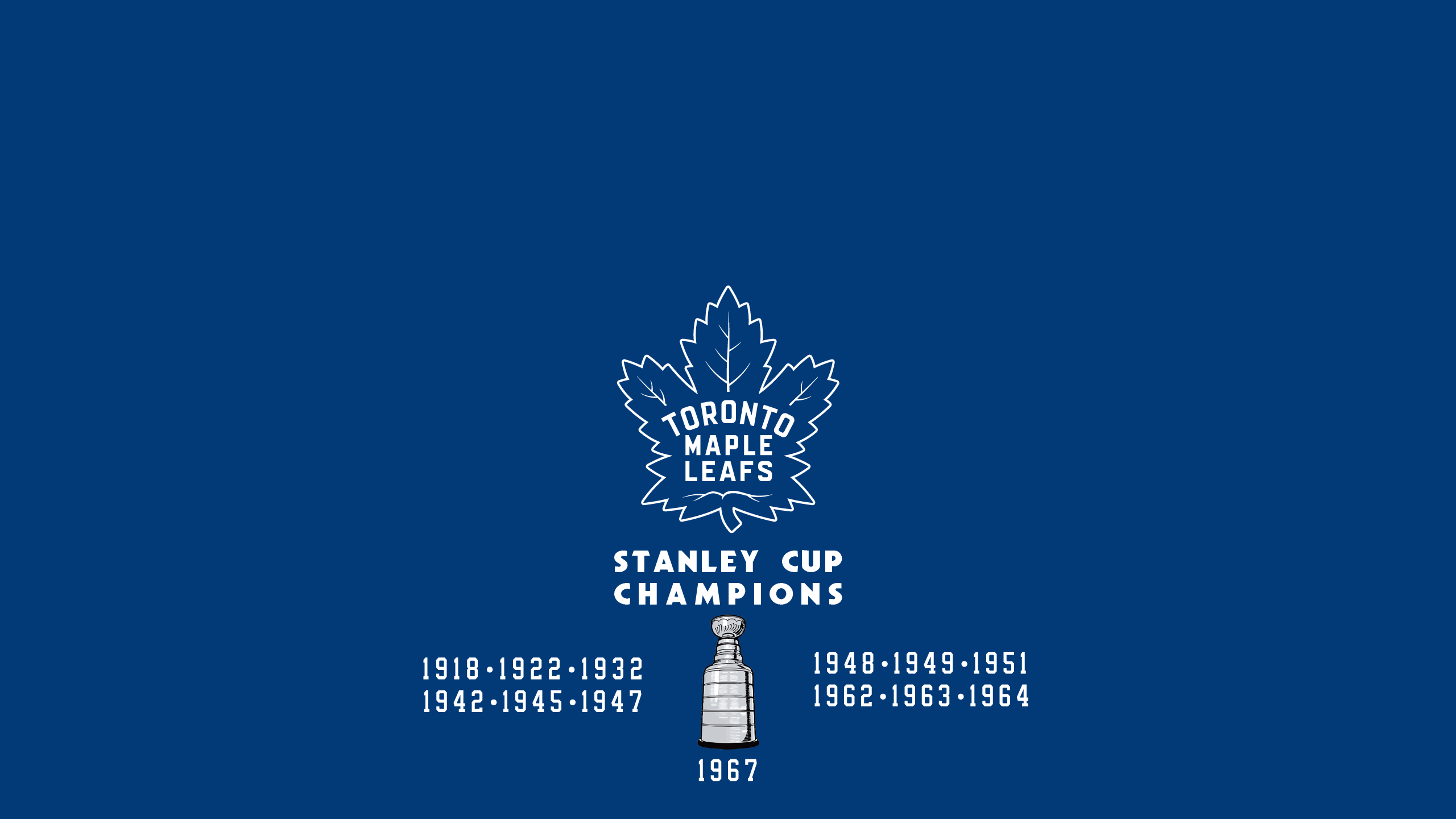 Toronto Maple Leafs - Stanley Cup
