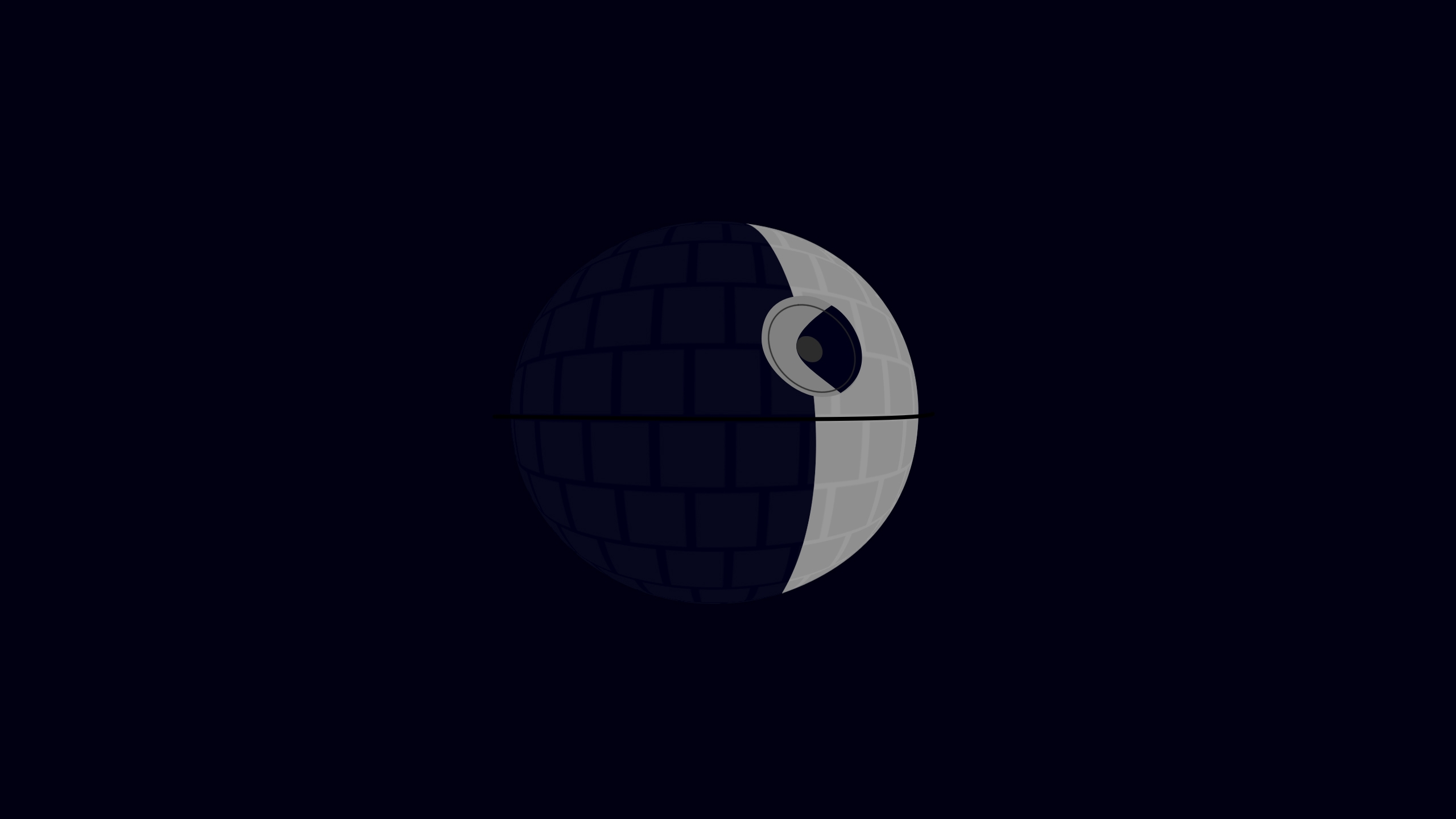 Death Star In The Shadows