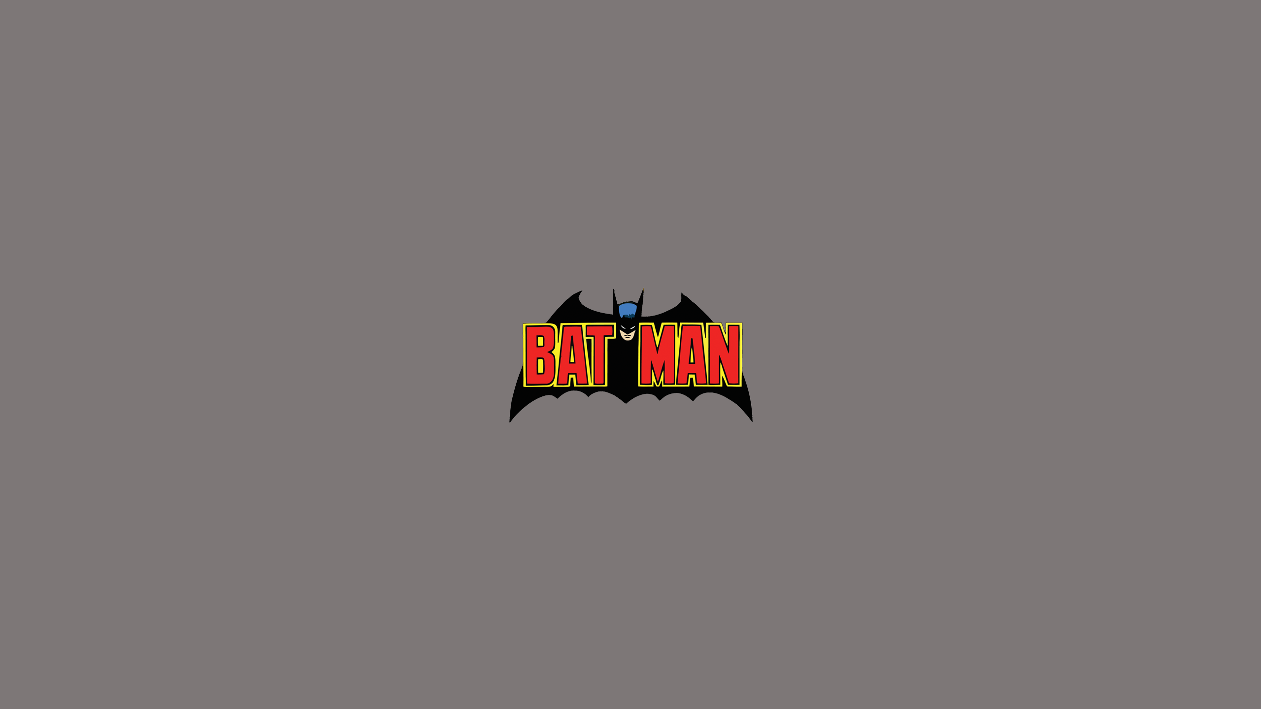 Batman (Old Comics Logo)