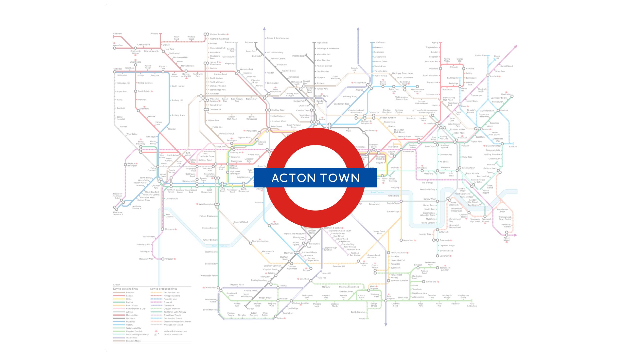 Acton Town (Map)