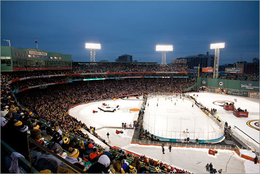 NHL Winter Classic at Fenway